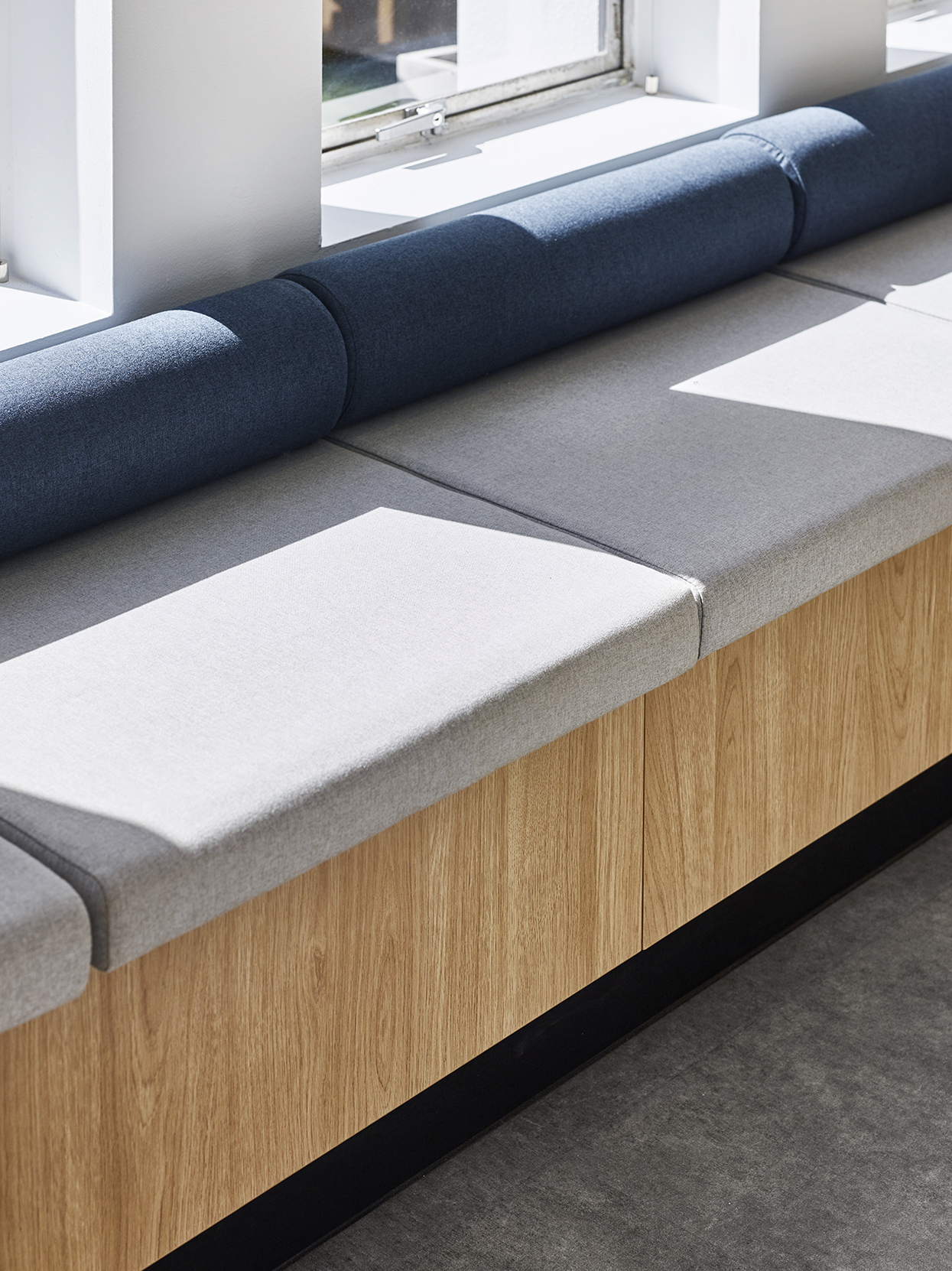 Cove Co-Work Bench Seating - Collectivus Interior Design