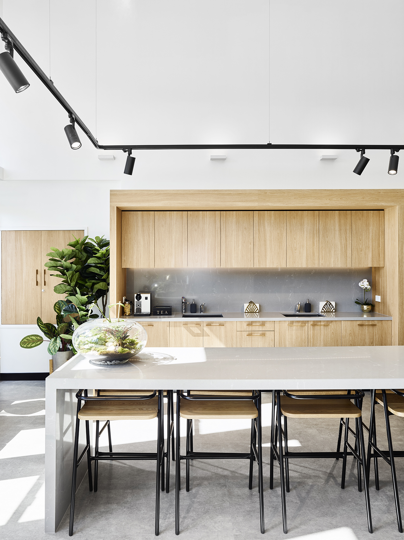 Cove Co-Work Kitchen - Collectivus Interior Design