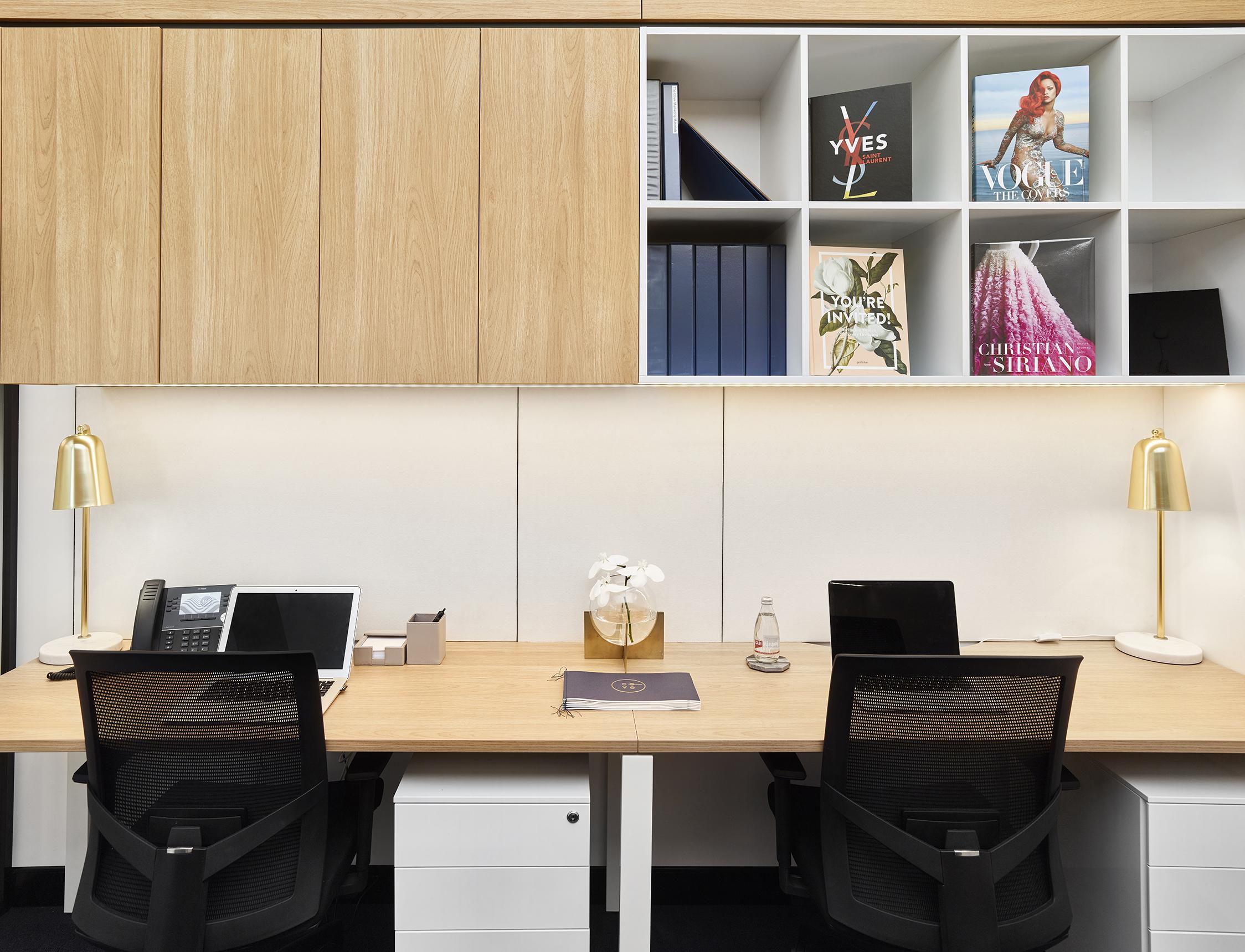 Cove Co-Work Desk Space - Collectivus Interior Design