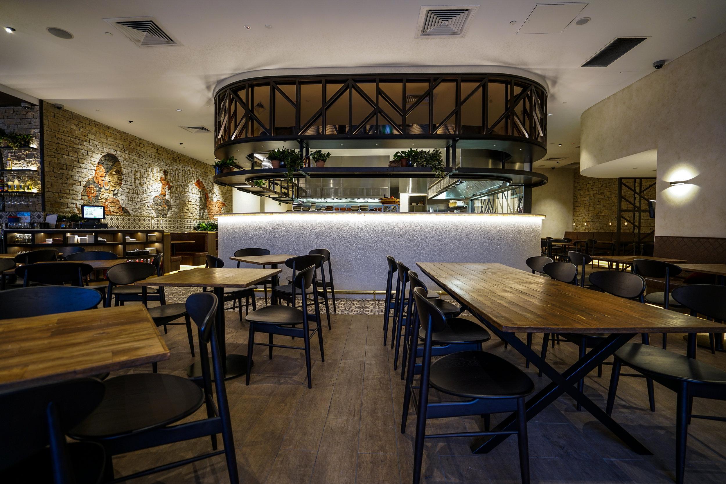 Hermosa Restaurant - Collectivus Interior Design