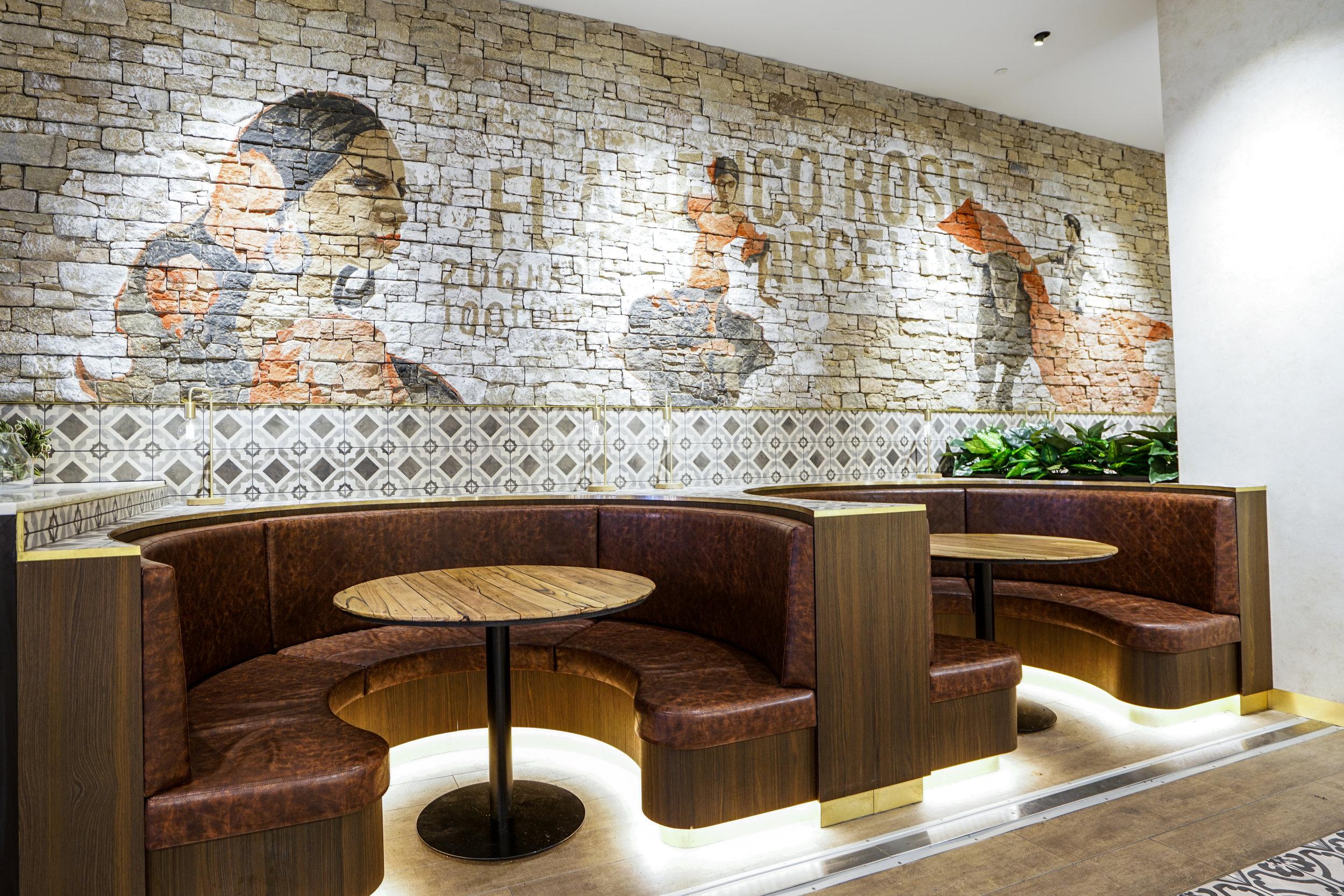 Hermosa Booth Seating - Collectivus Interior Design