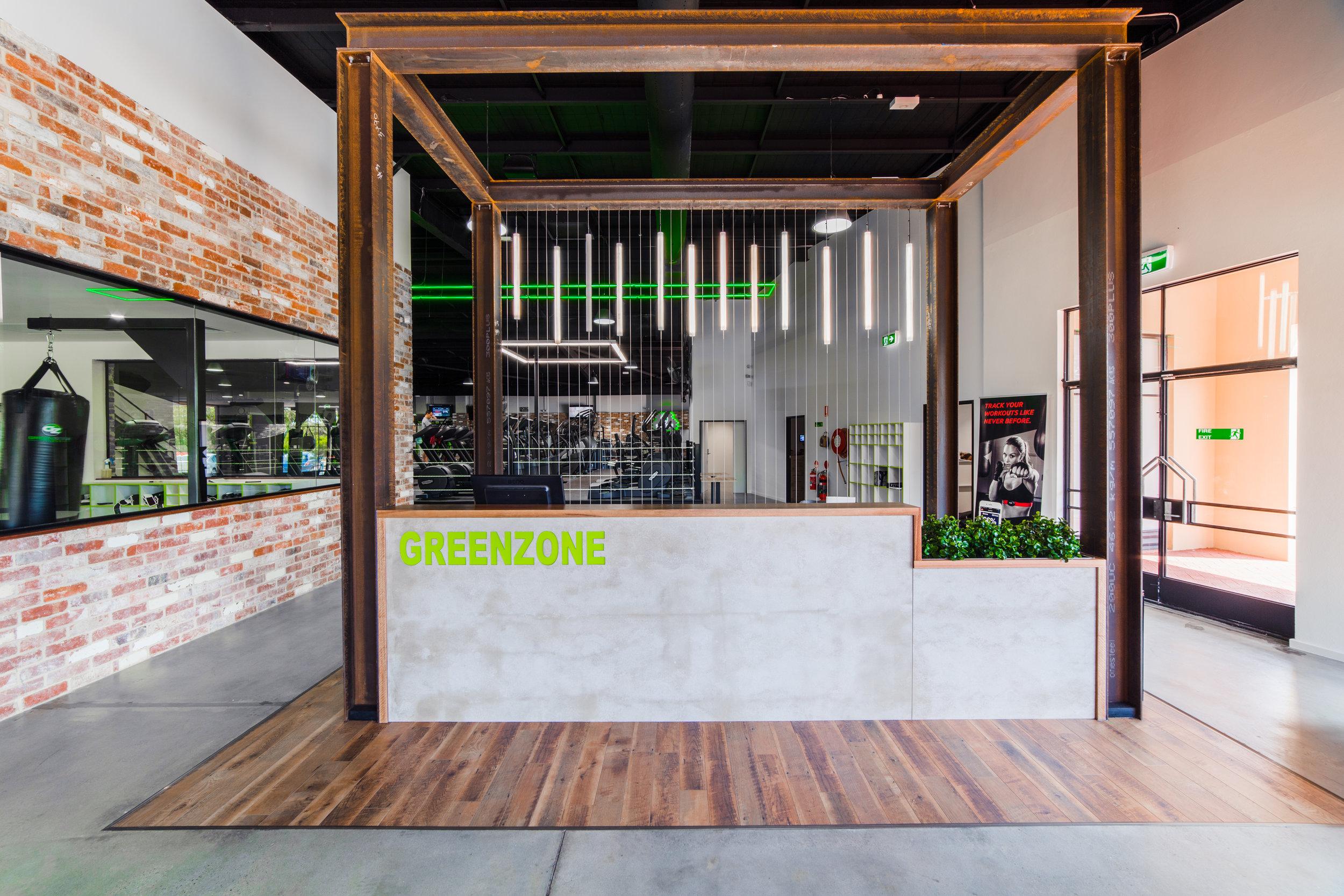 Greenzone Reception - Collectivus Interior Design