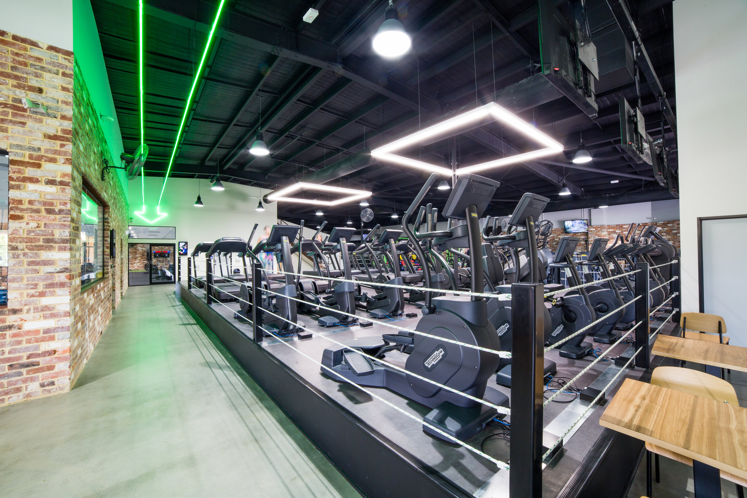 Greenzone Gym - Collectivus Interior Design