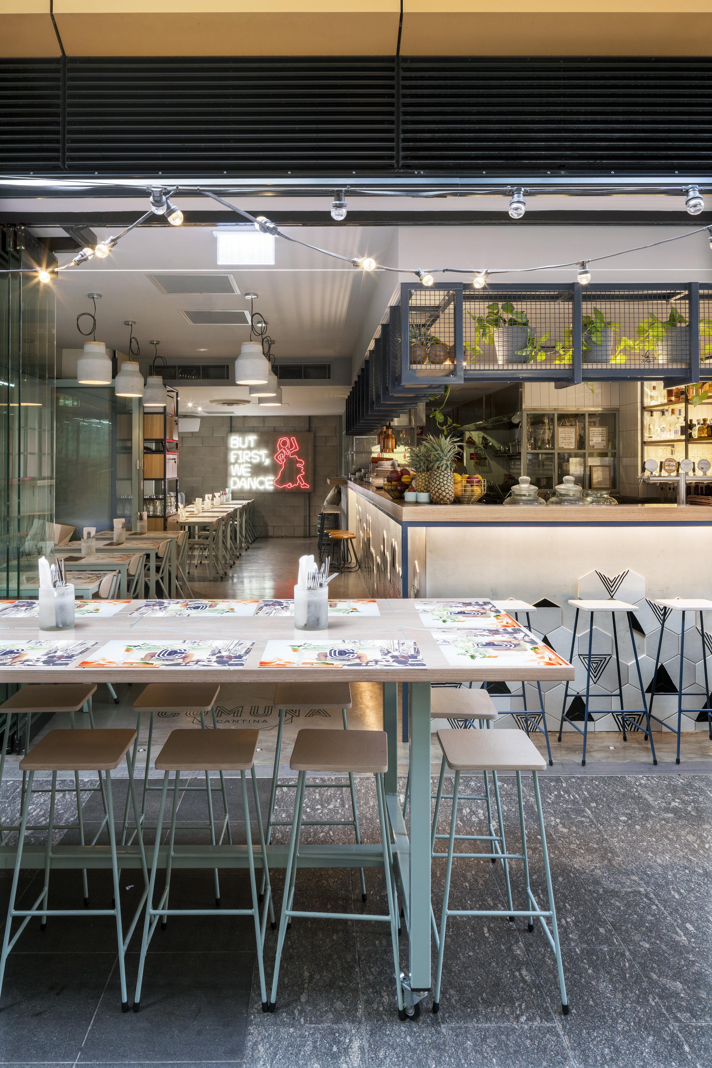 Comuna Cantina Dining - Collectivus Interior Design