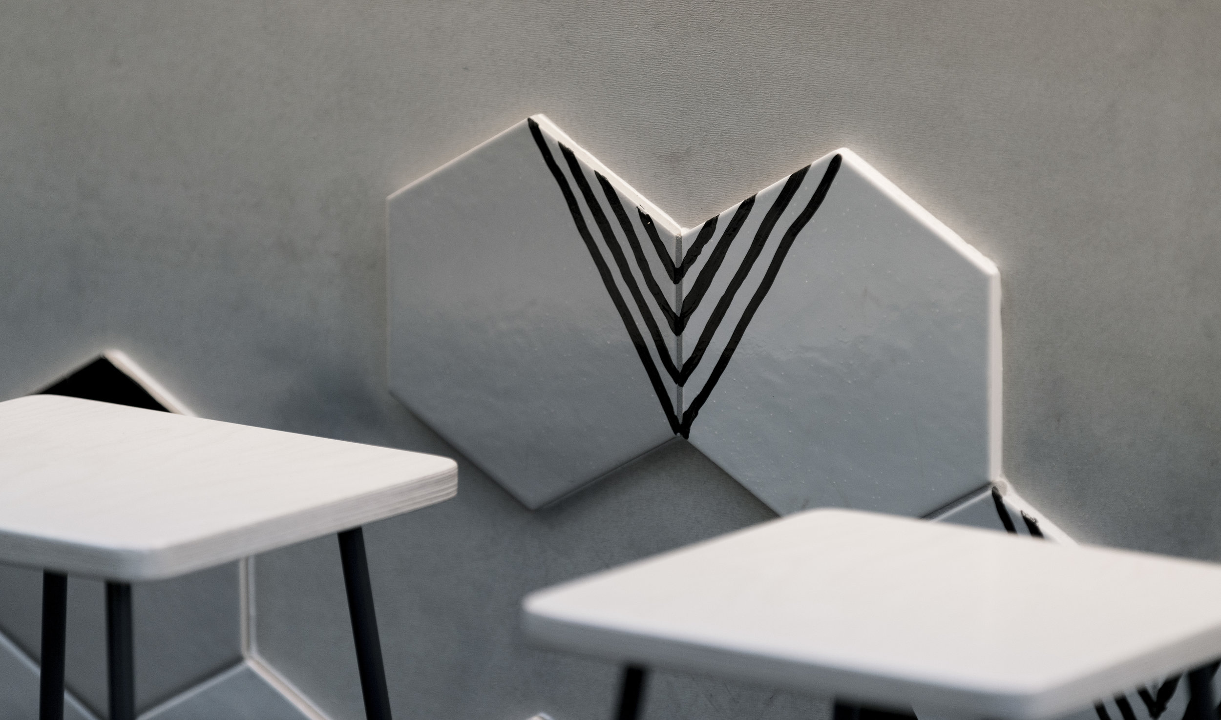 Comuna Cantina Tile Detail - Collectivus Interior Design