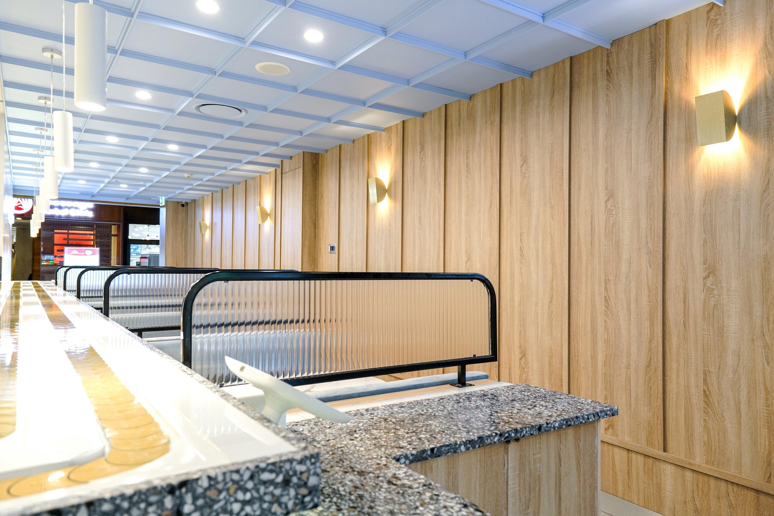 Ichiban Booth Details - Collectivus Interior Design
