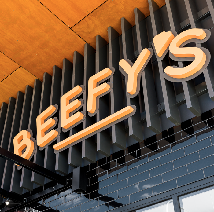 Beefy's<strong>Interior Design & Branding.</strong>
