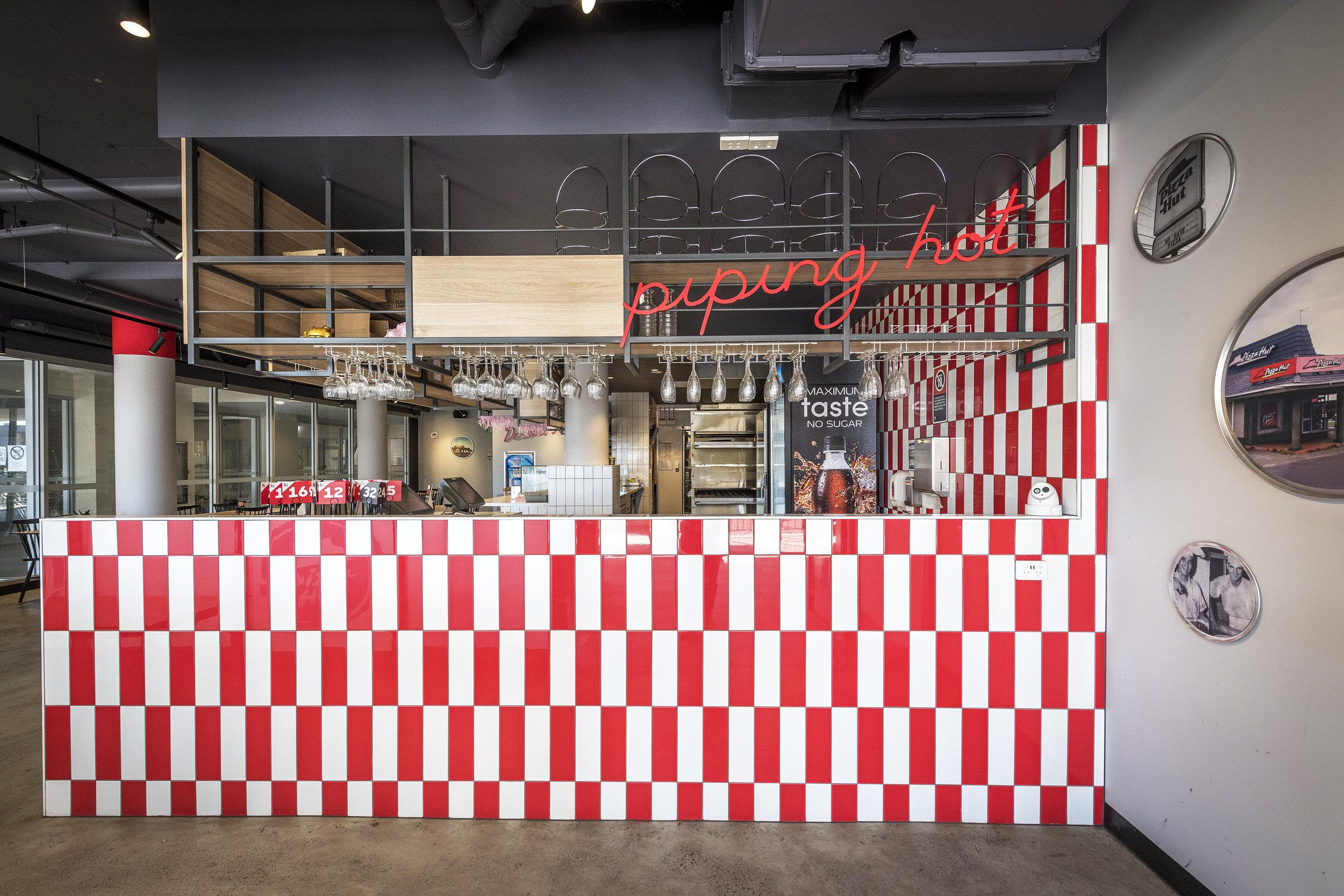 Pizza Hut Merrylands<strong>Interior Design.</strong>
