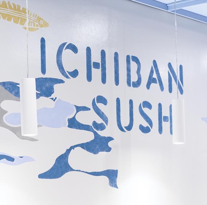 Ichiban Sushi<strong>Interior Design & Branding.</strong>