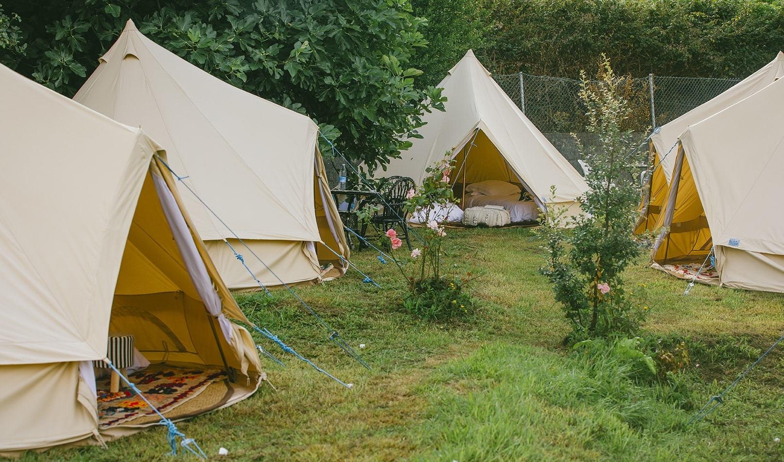 Holding a festival and want to offer glamping? Chat with the Snazzy Camp team about your needs