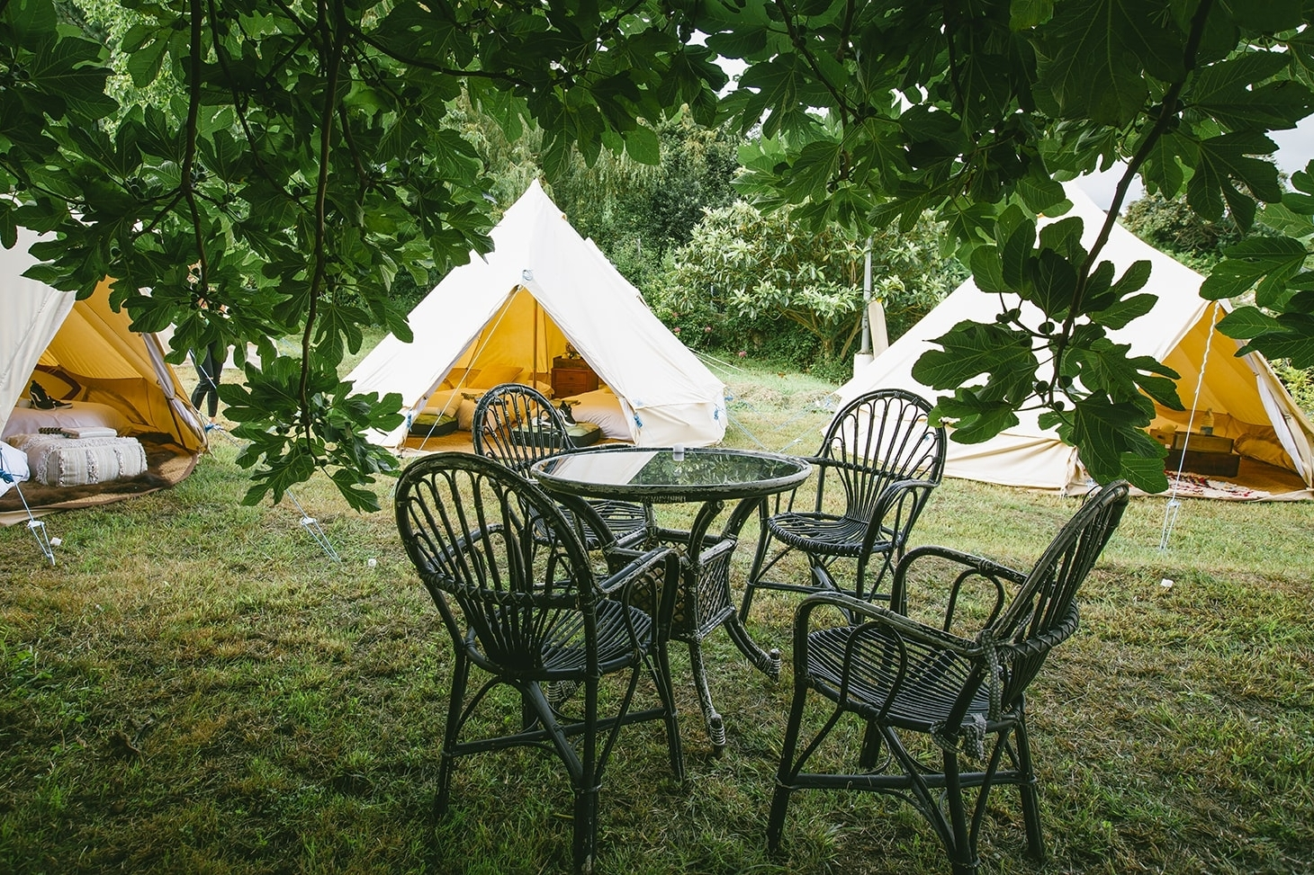 Whatever your event - birthday, anniversary, surprise proposal, kids party - if you want one tent , two tents or a whole village Snazzy Camp can set up wherever you choose.