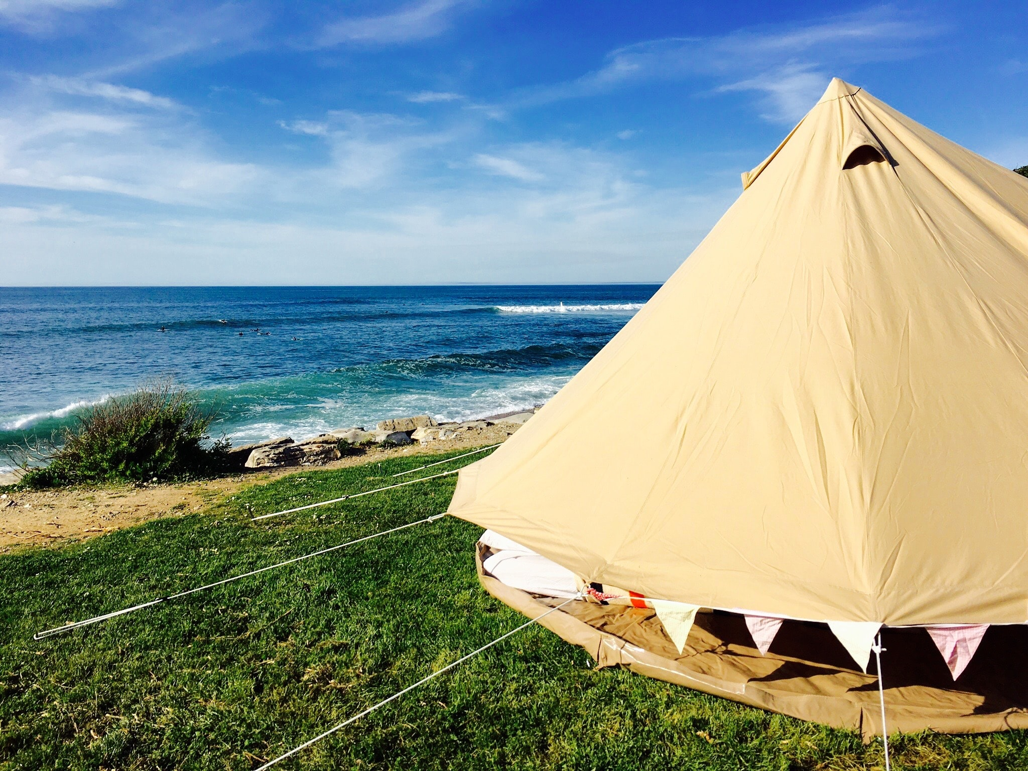 At Snazzy Camp, we want to open up the world of camping.. - ..without you needing to pitch a tent