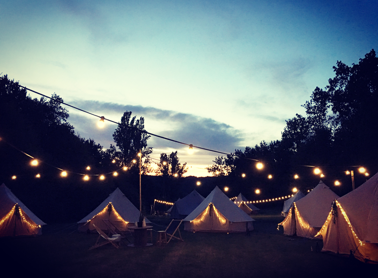 Festivals - Big or small, we offer festivals a glamping village with the option of chillout zones for both summer & winter events. Contact us for more details!
