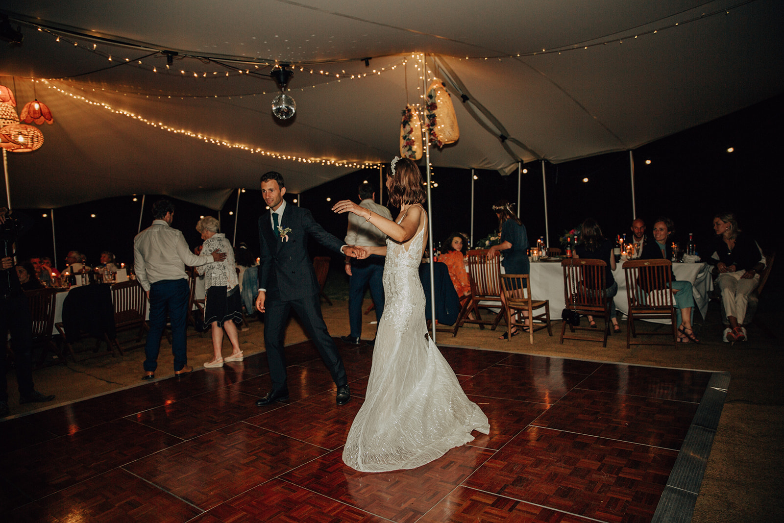 Photography here done by the wonderful Marine Marques Weddings & fairy lights/ lamp shades by the team at Le Scenographe!! Check them out!