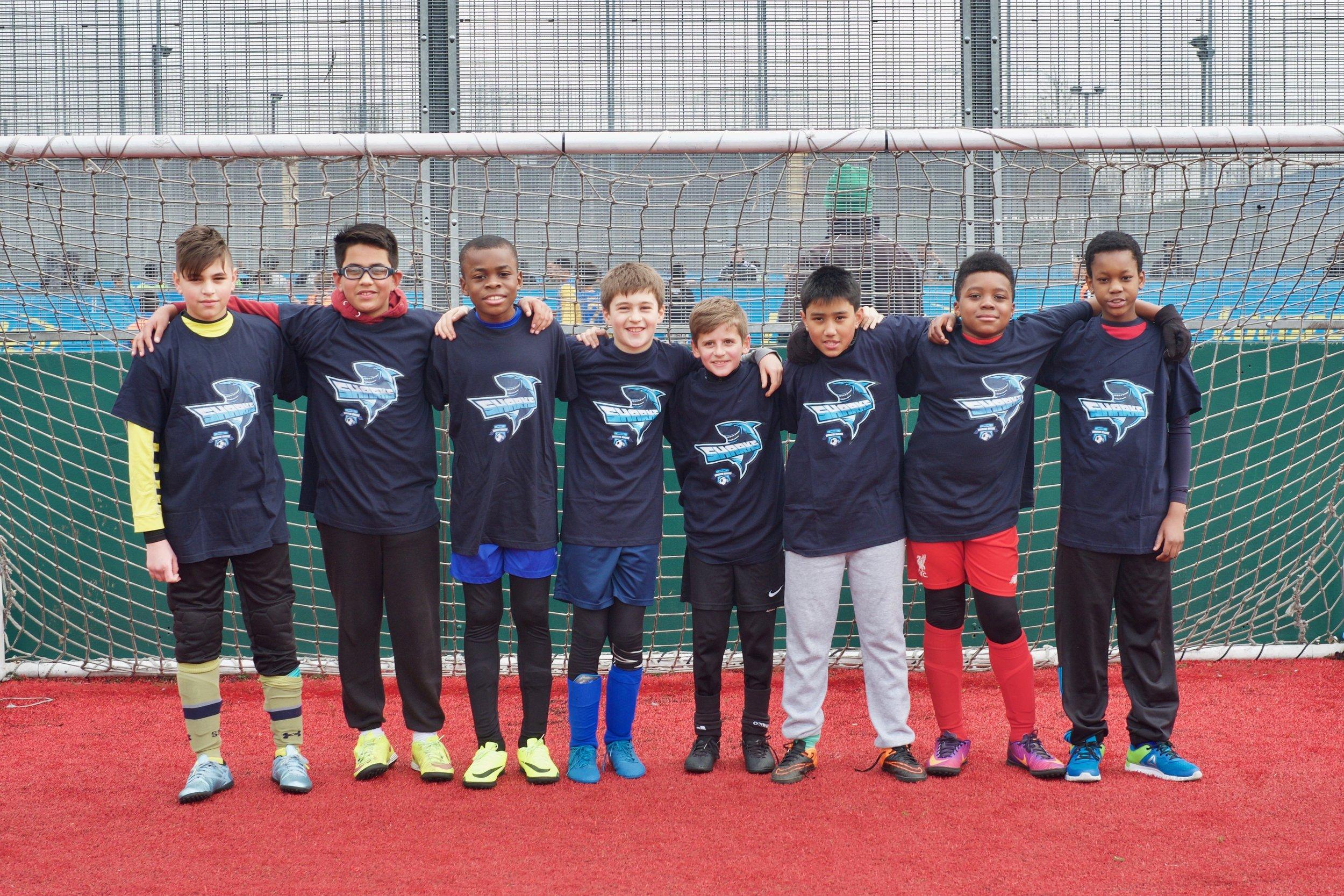 Edmonton Rangers Football Club U12s - The Sharks