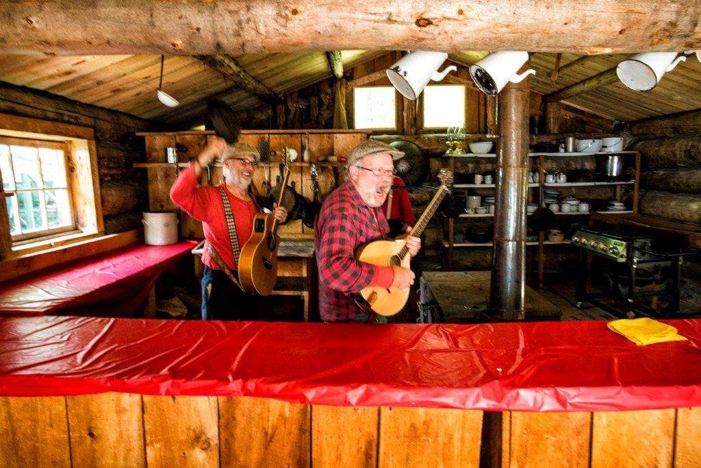 Wakami Wailers at the Marten River Cookhouse