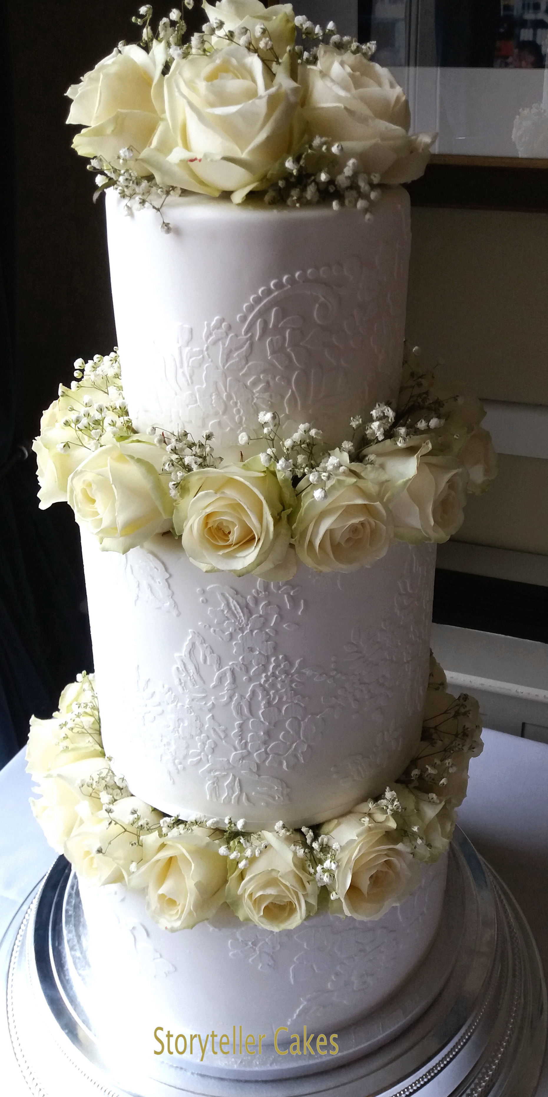 Rose & Lace Wedding Cake2.jpg