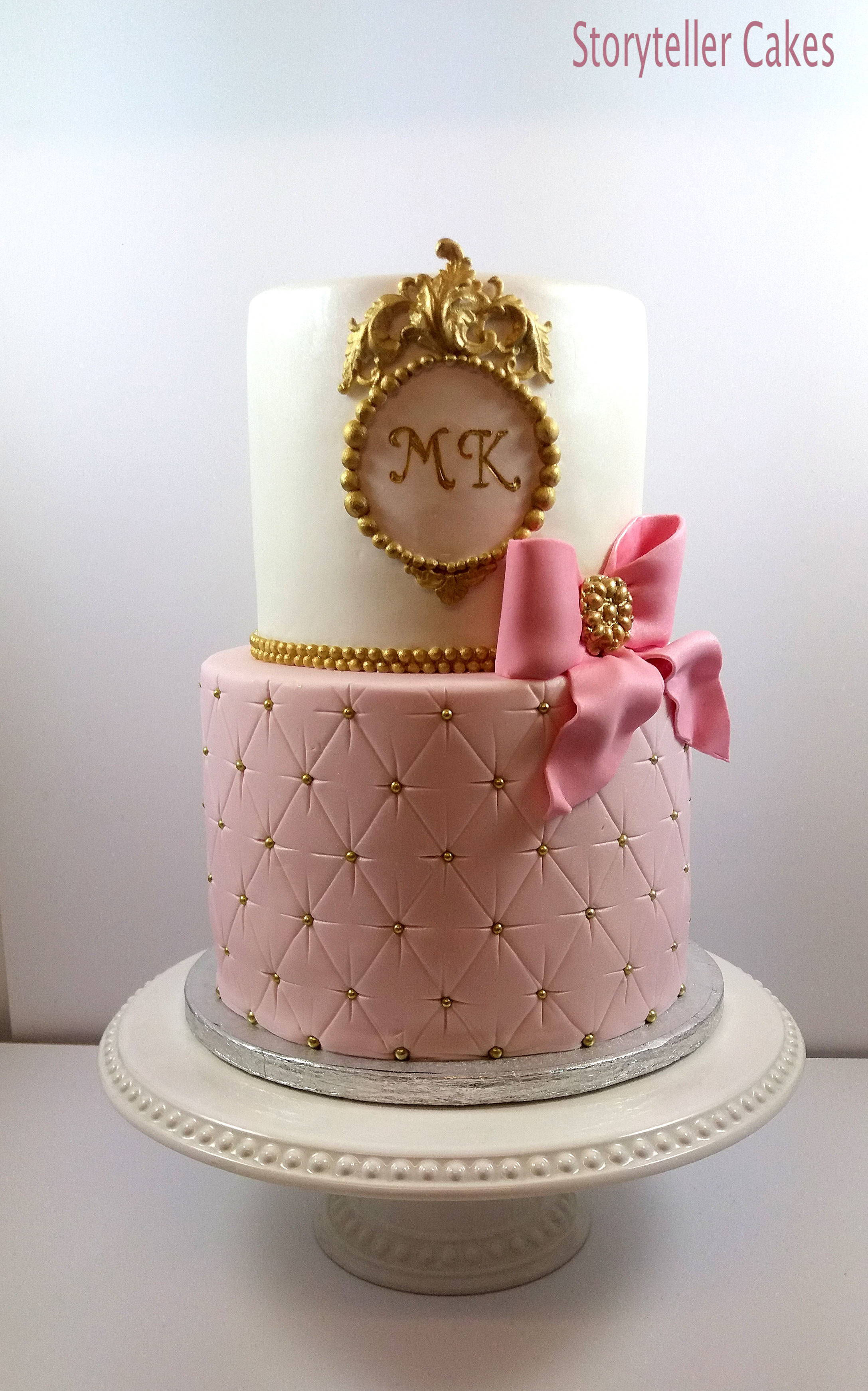 Pink & Gold Girls Birthday Cake 4.jpg