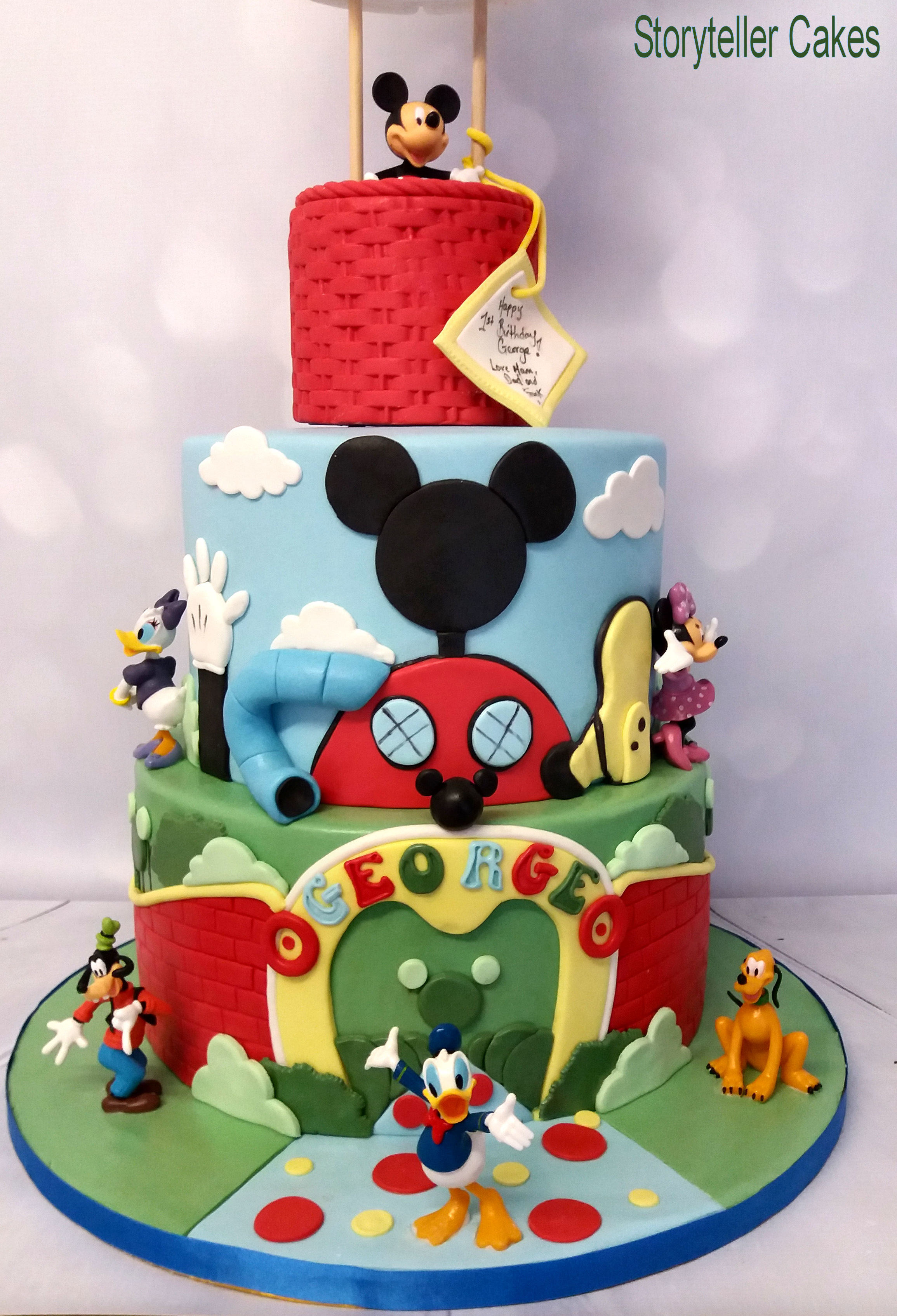Mickey Mouse Air Balloon Cake 3.jpg