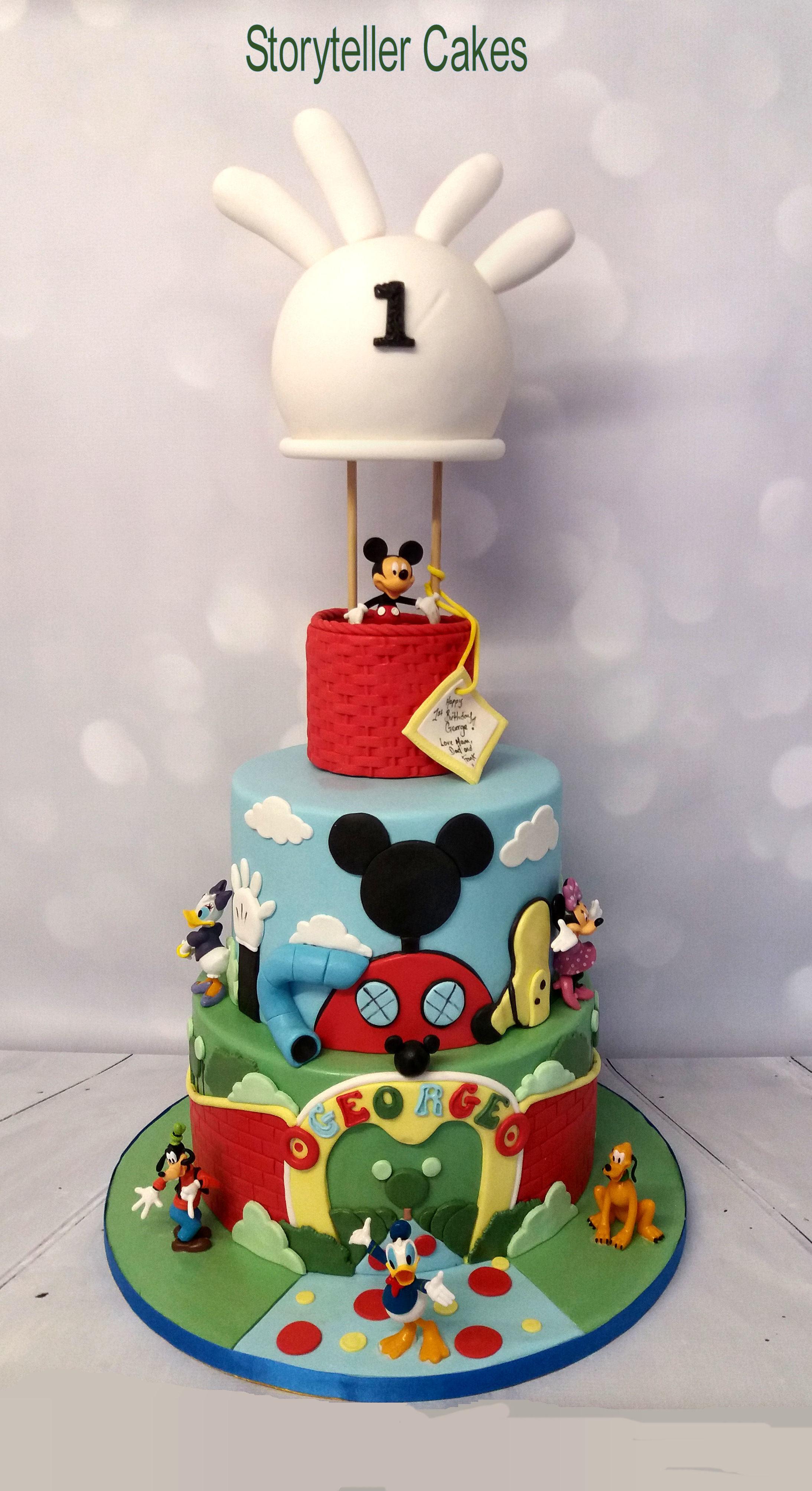 Mickey Mouse Air Balloon Cake 1.jpg