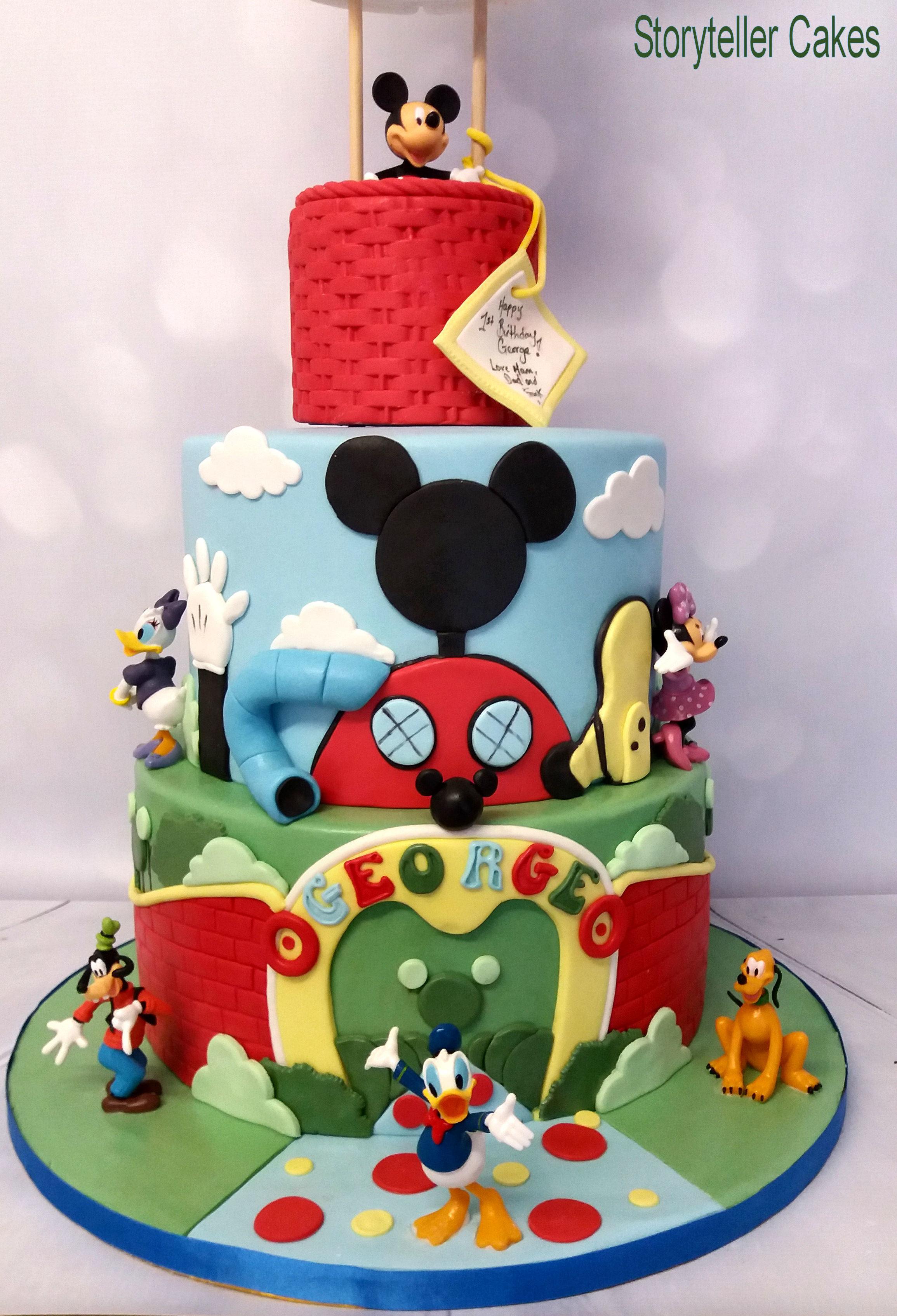 Mickey Mouse Air Balloon Cake 3.jpg