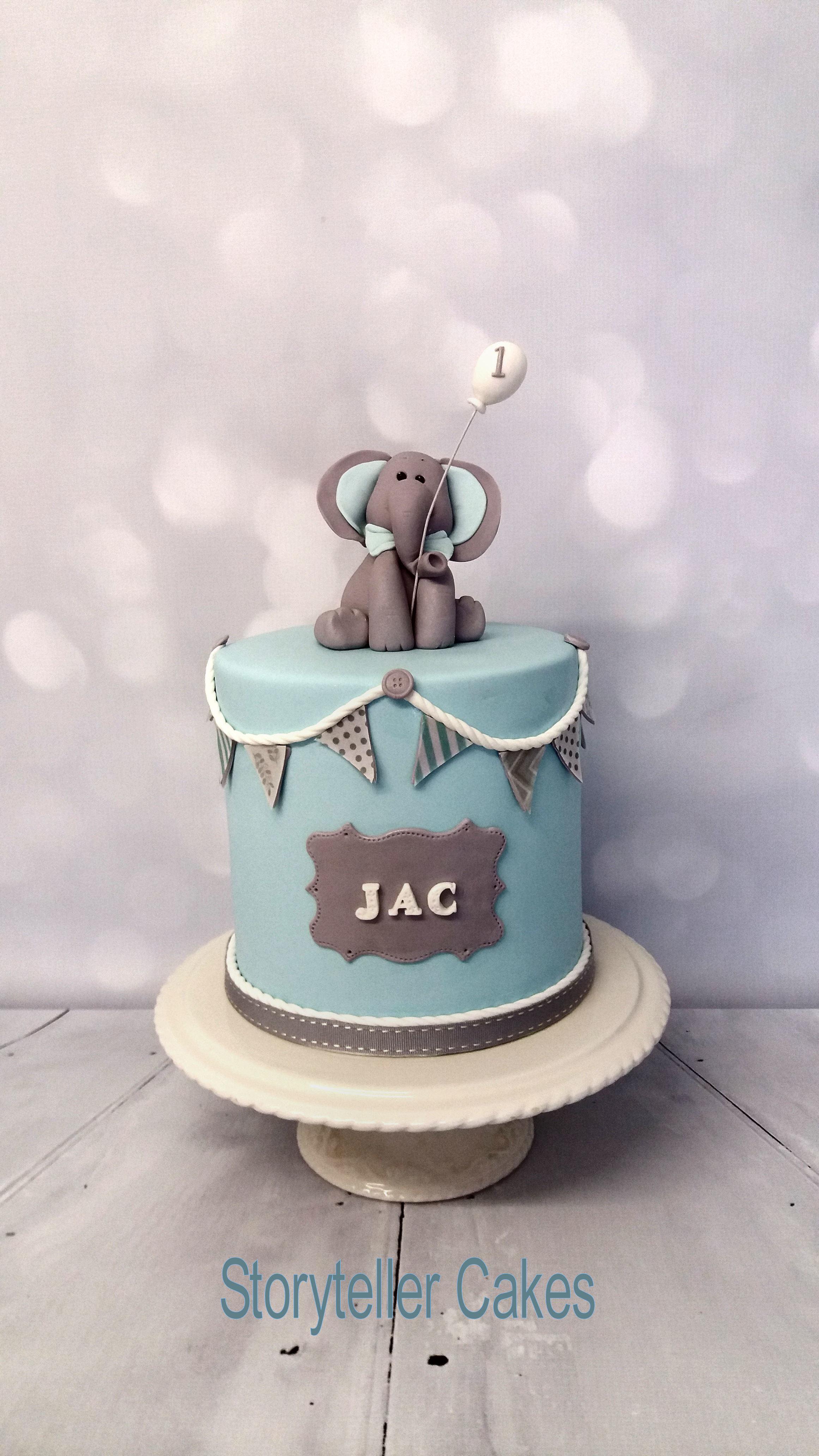baby elephant first birthday cake.jpg