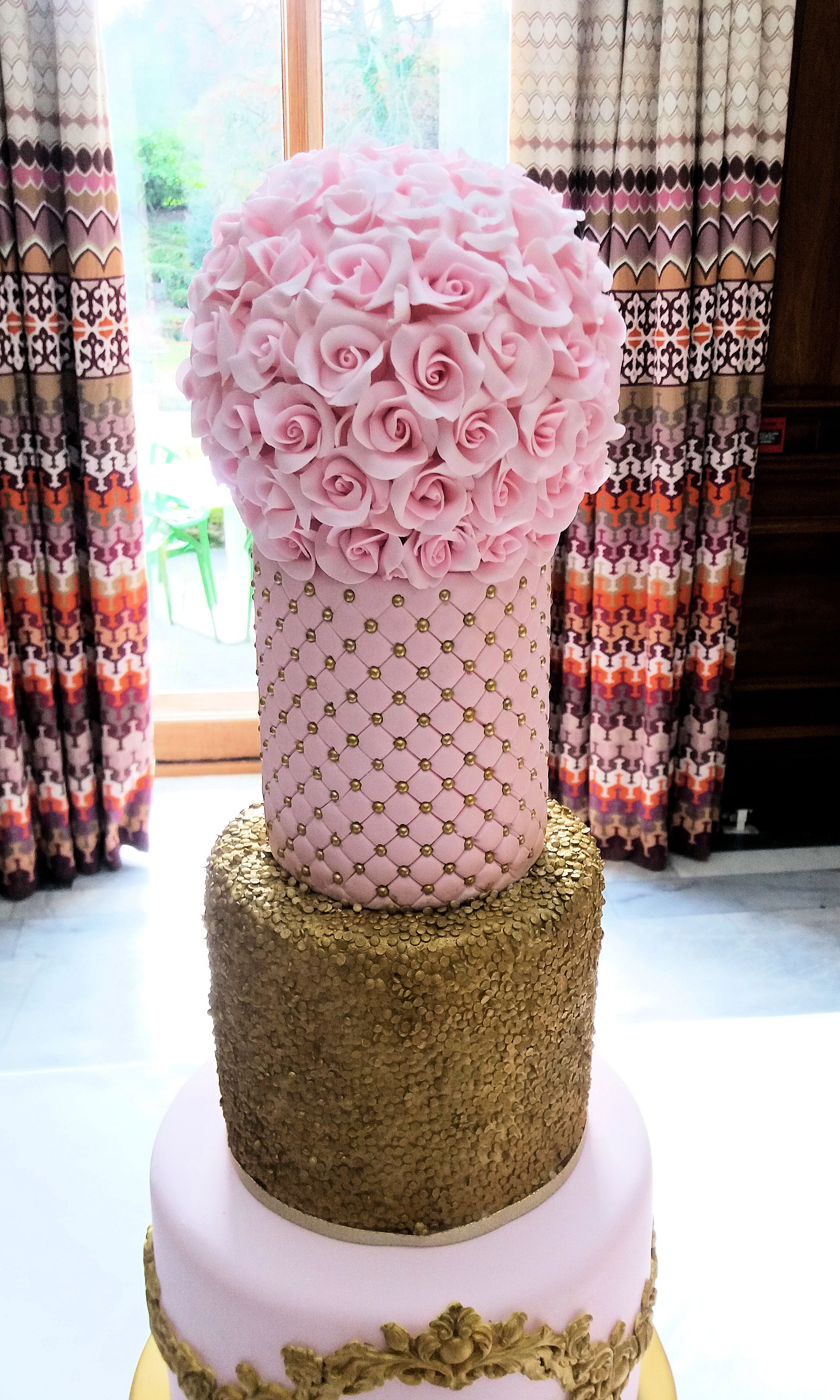 Rose Flower ball for wedding cake.jpg