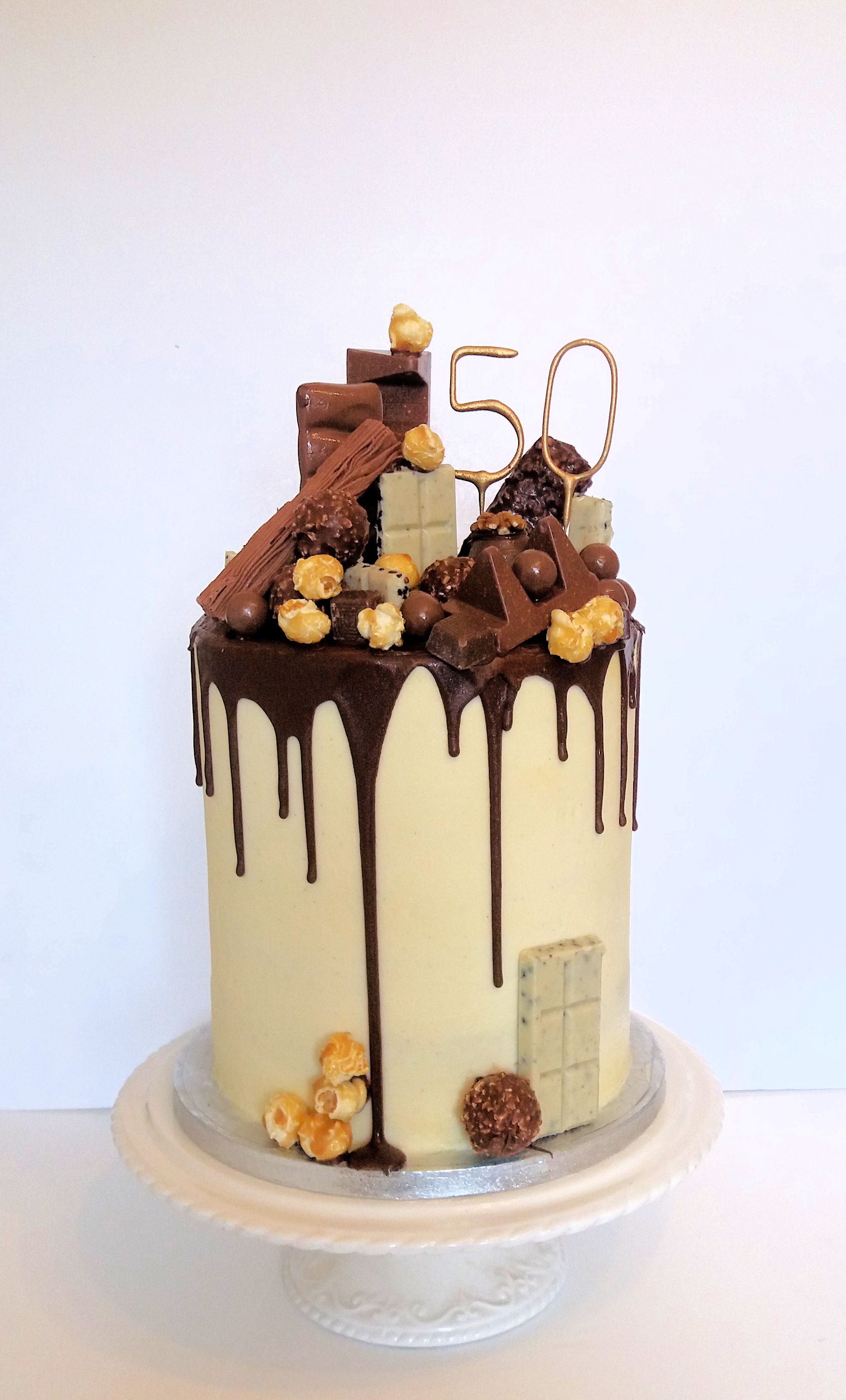 chocolate Drip Chocolate Buttercream Cake.jpg