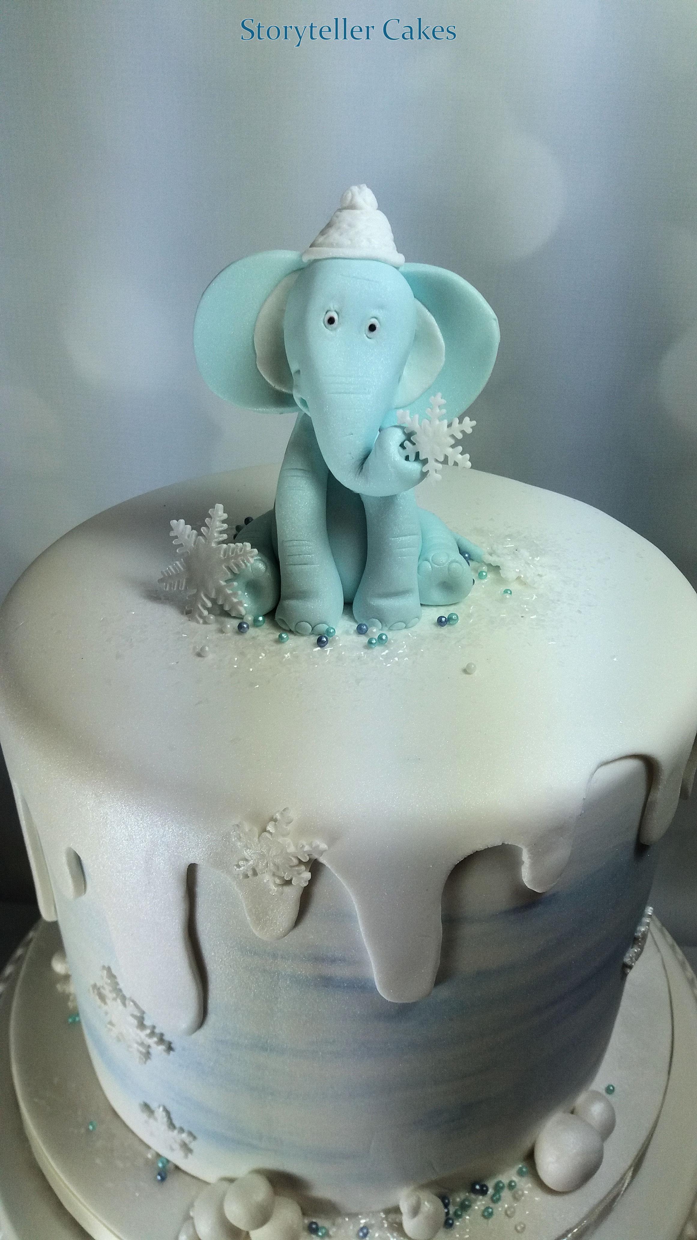 elephant baby shower christening 1st birthday cake.jpg