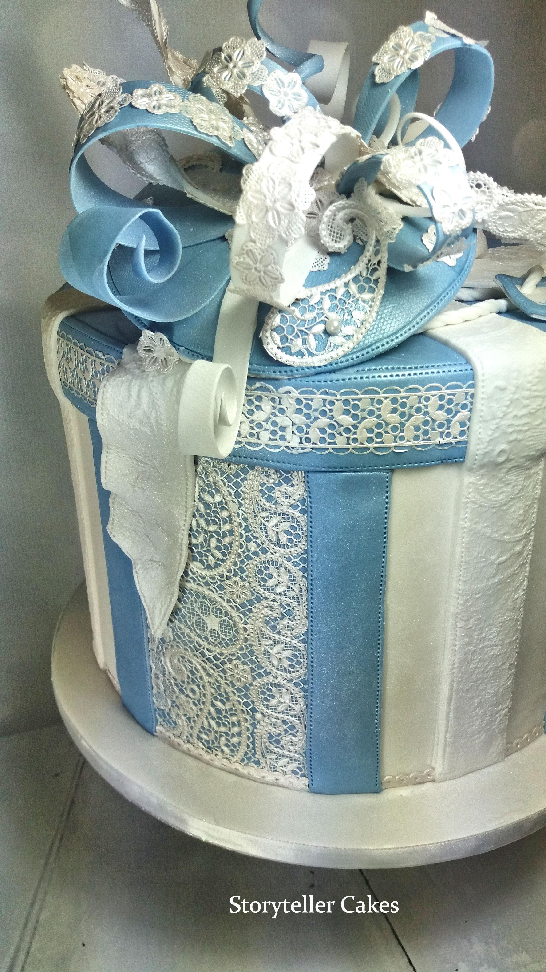 Hat Box & Facinator Birthday Cake 2.jpg