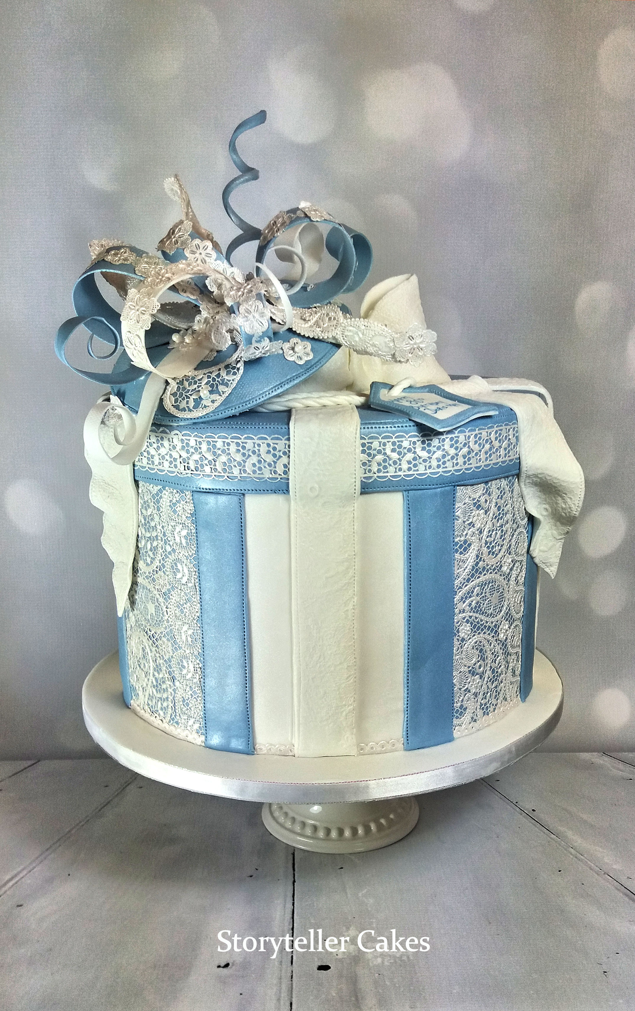 Hat Box & Facinator Birthday Cake.jpg