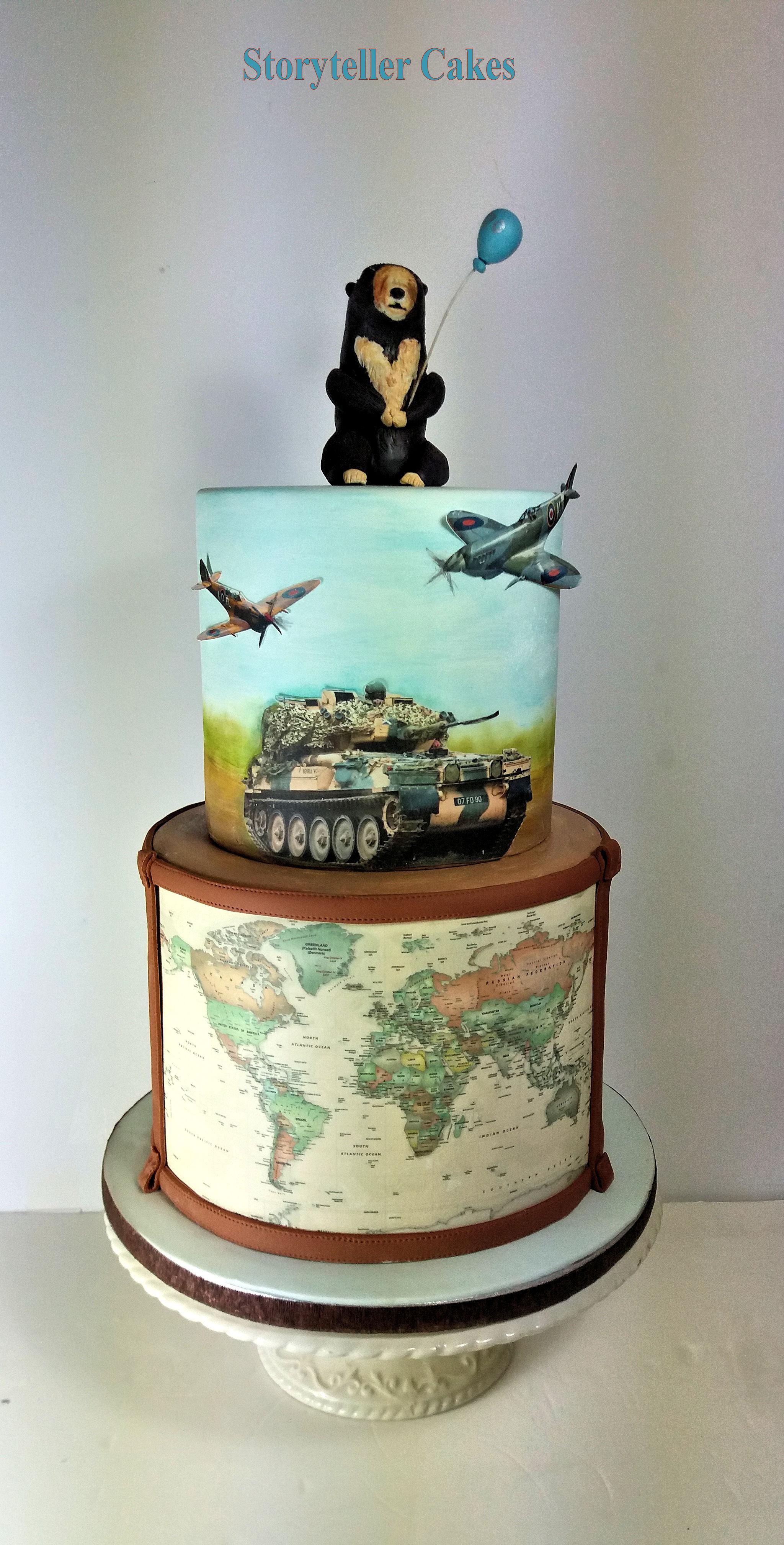 Army Tank Spitfire Birthday Cake.jpg