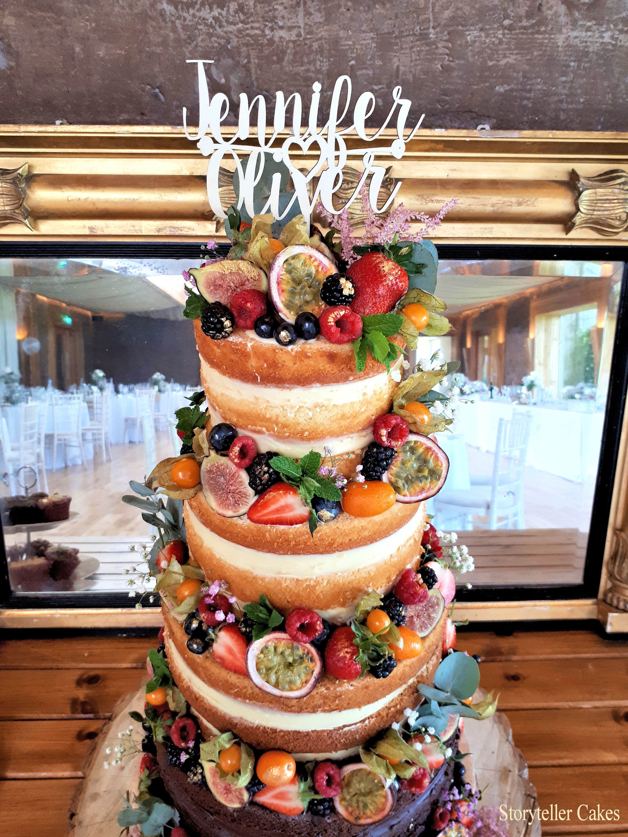 beautiful naked wedding cake with fruit4.jpg