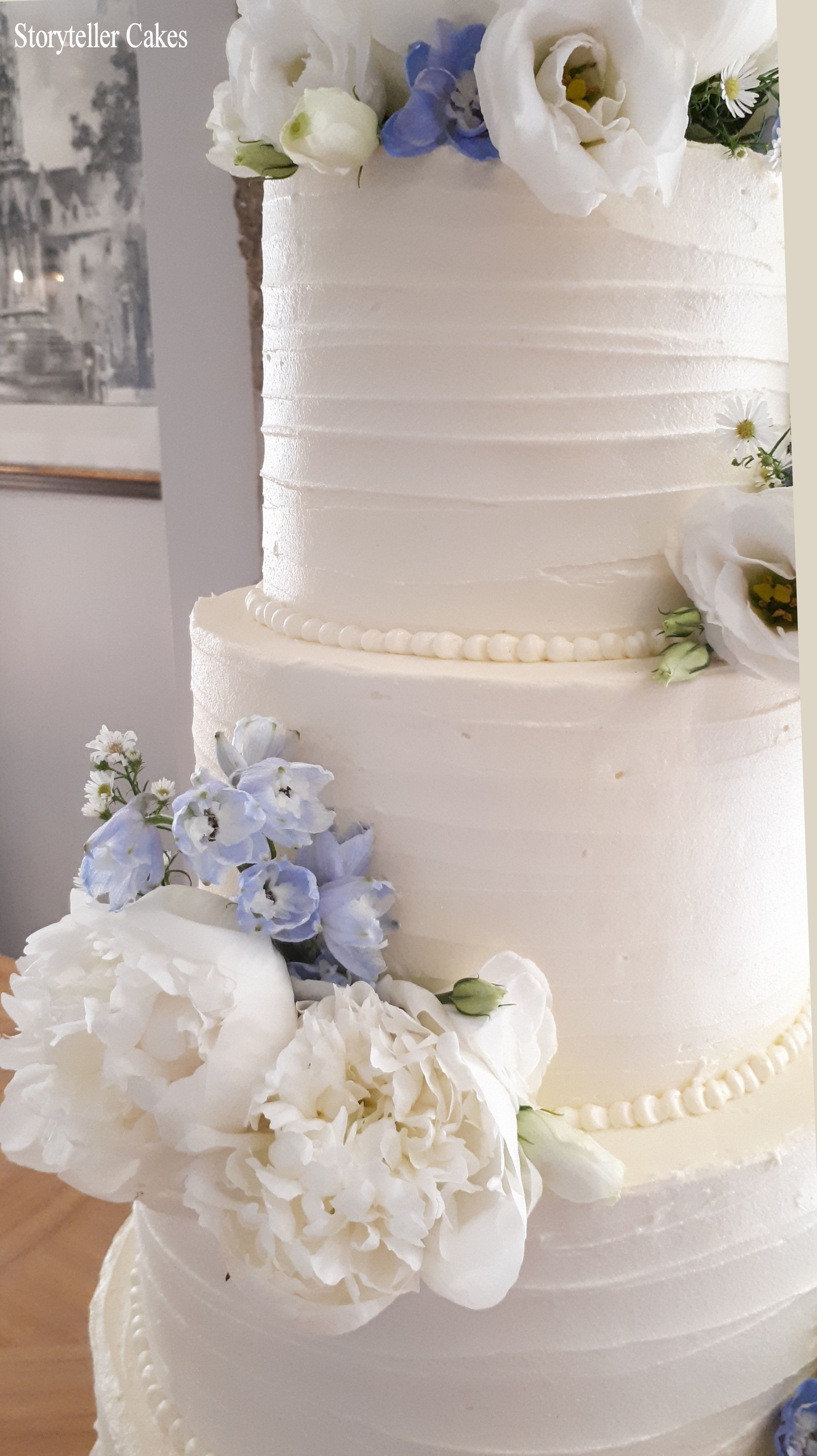Beautiful Buttercream Ruffle and peony wedding cake5.jpg