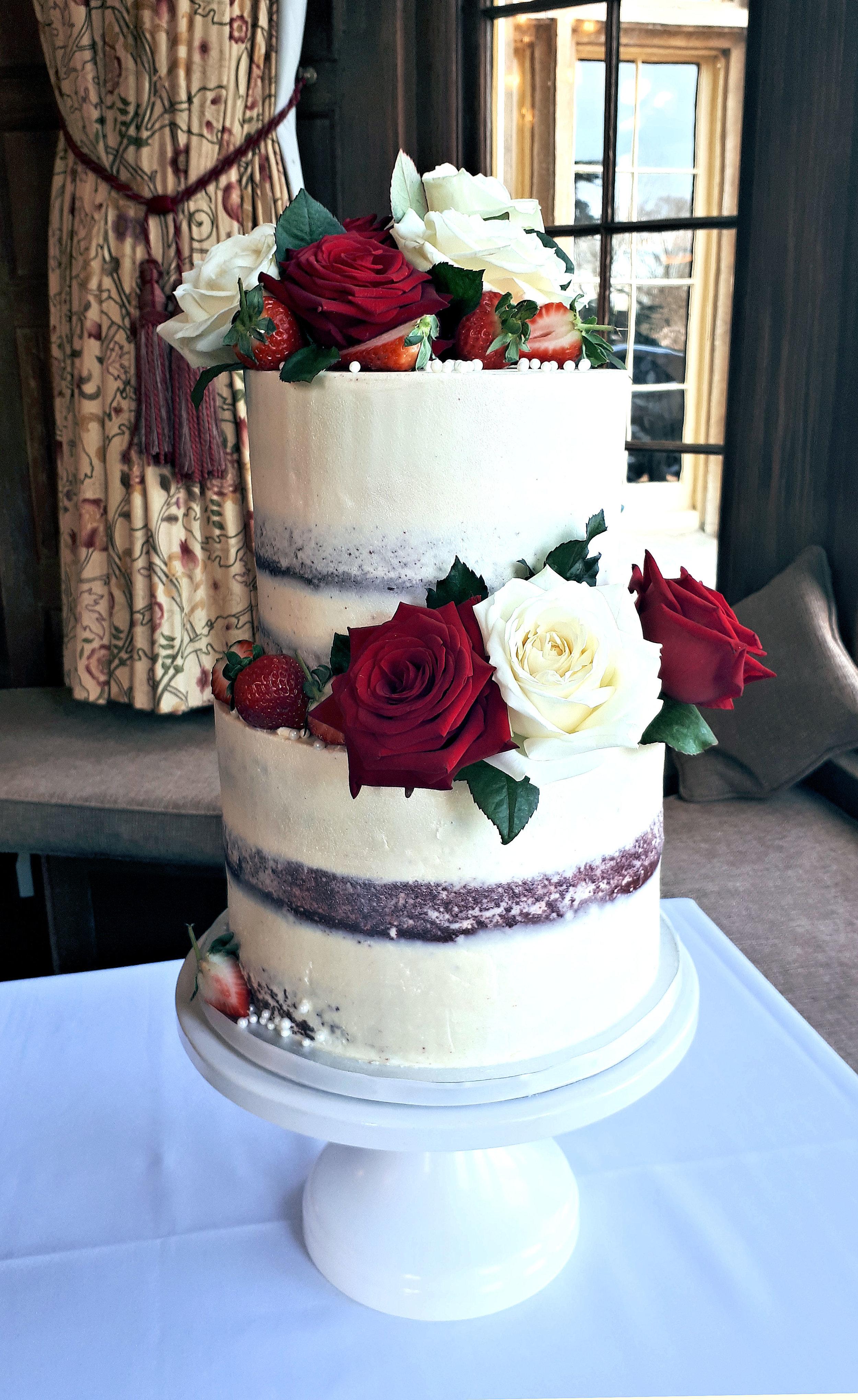 valentines semi naked wedding cake.jpg