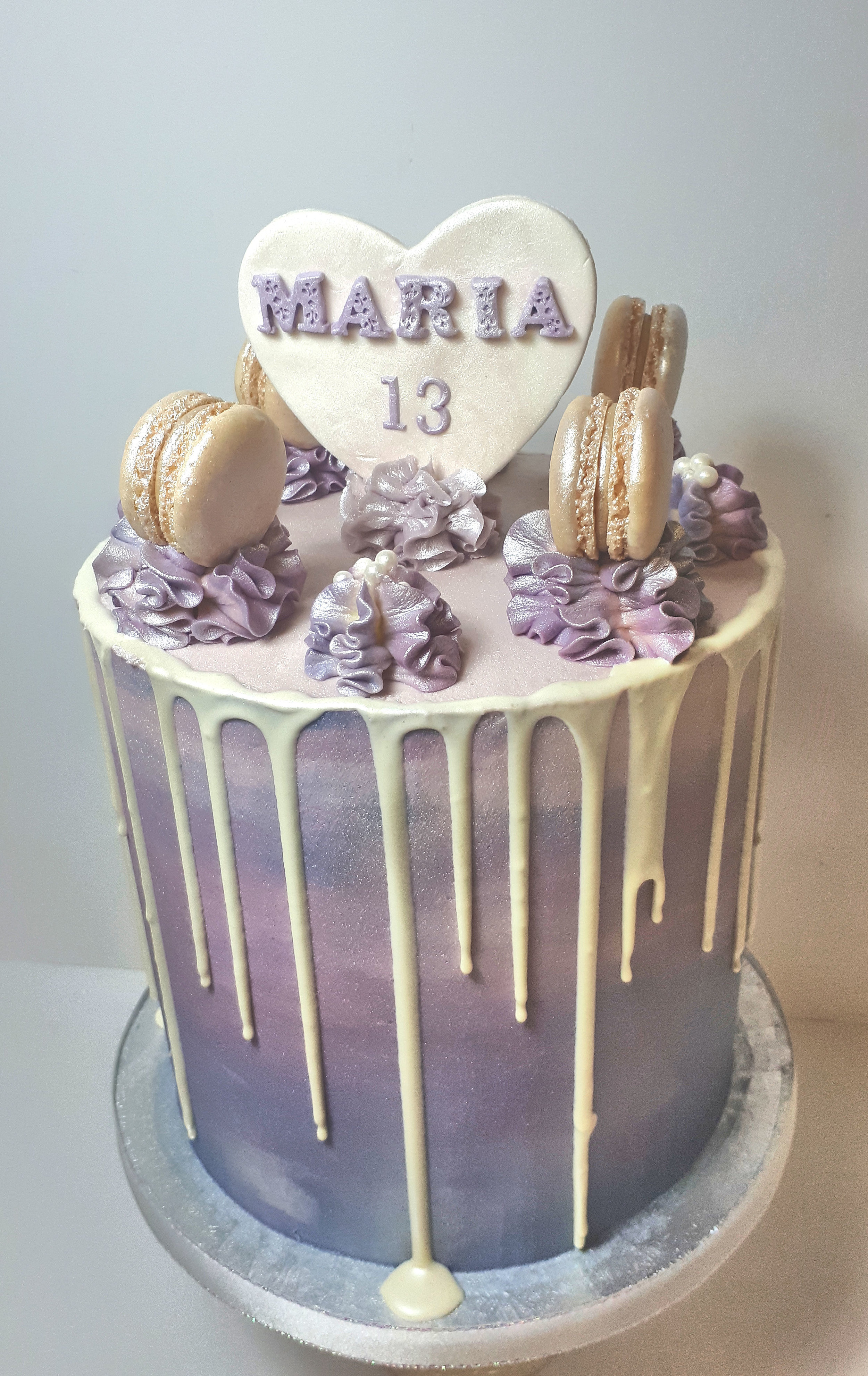 Lilac Buttercream Drippy Cake.jpg