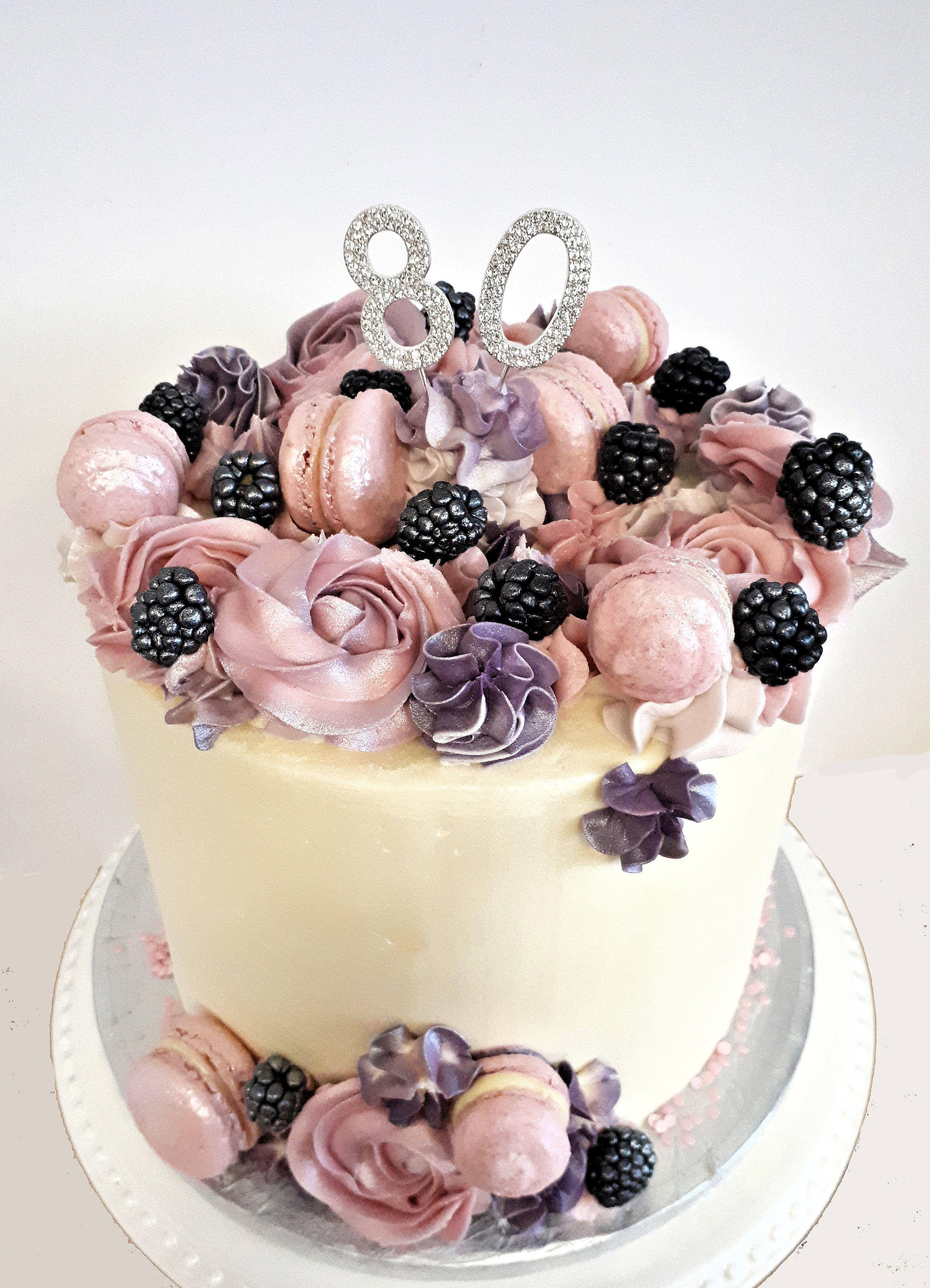 80th birthday buttercream cake.jpg