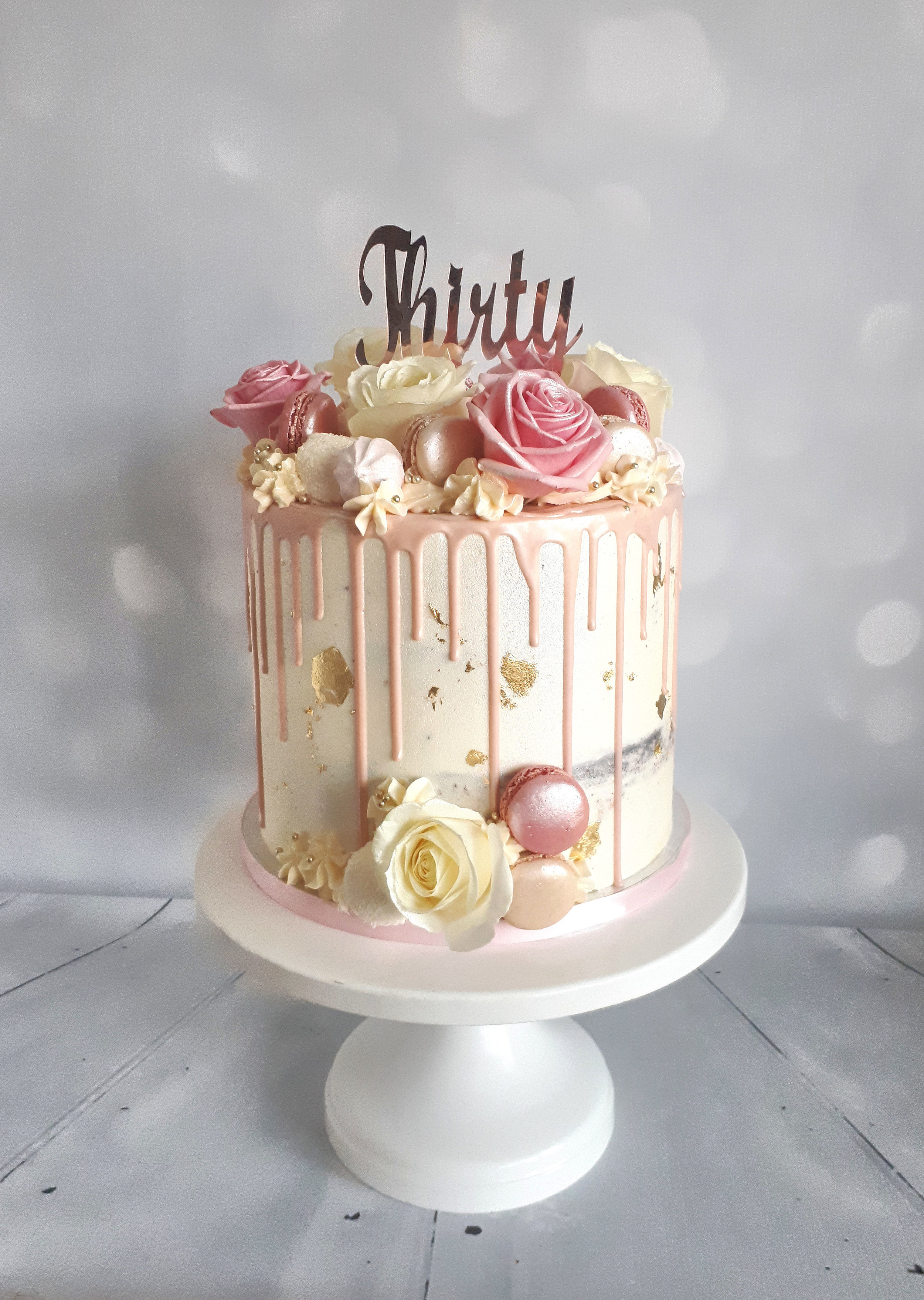 pink rose buttercream drip cake.jpg