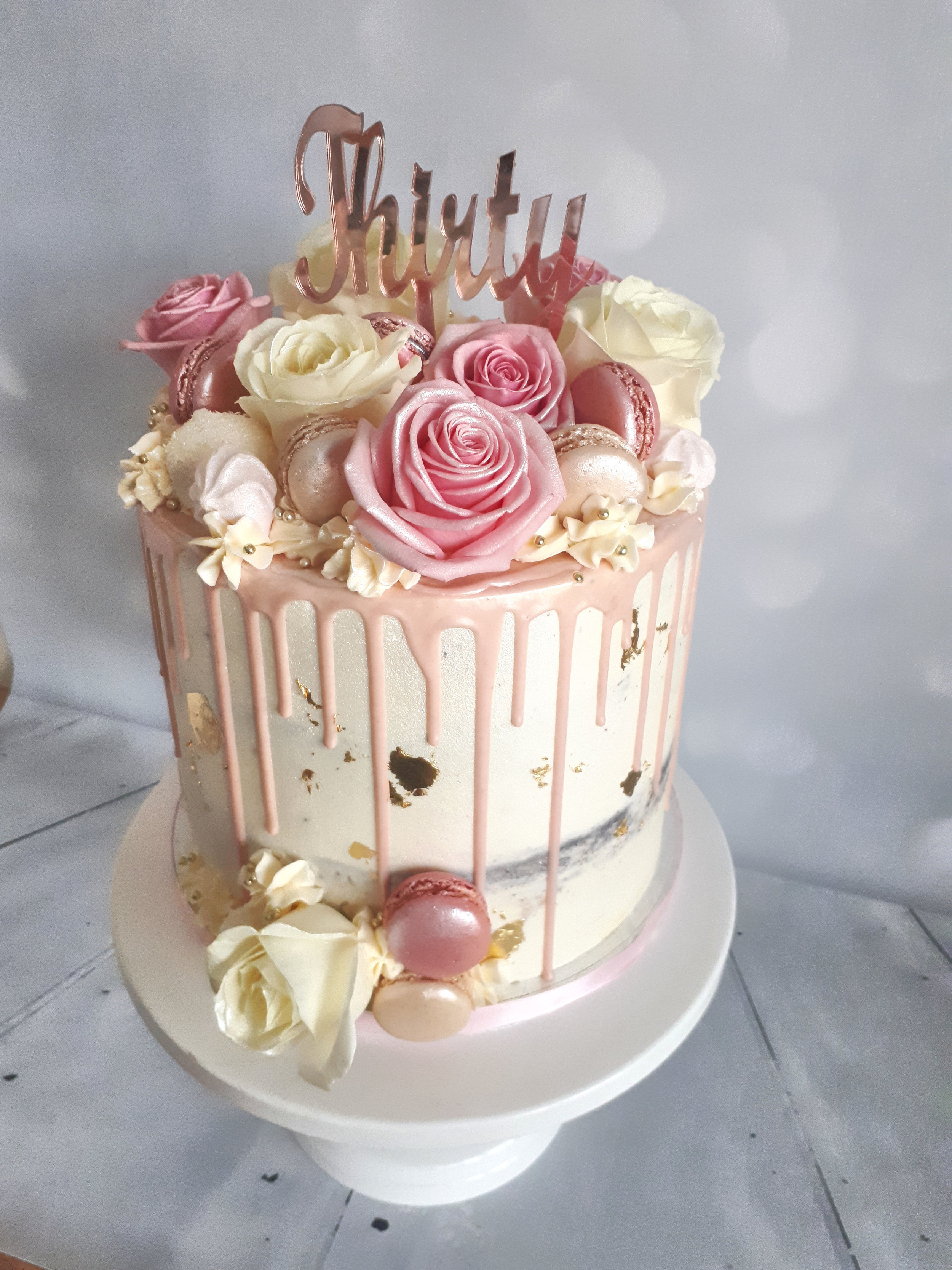 pink rose buttercream drip cake2.jpg