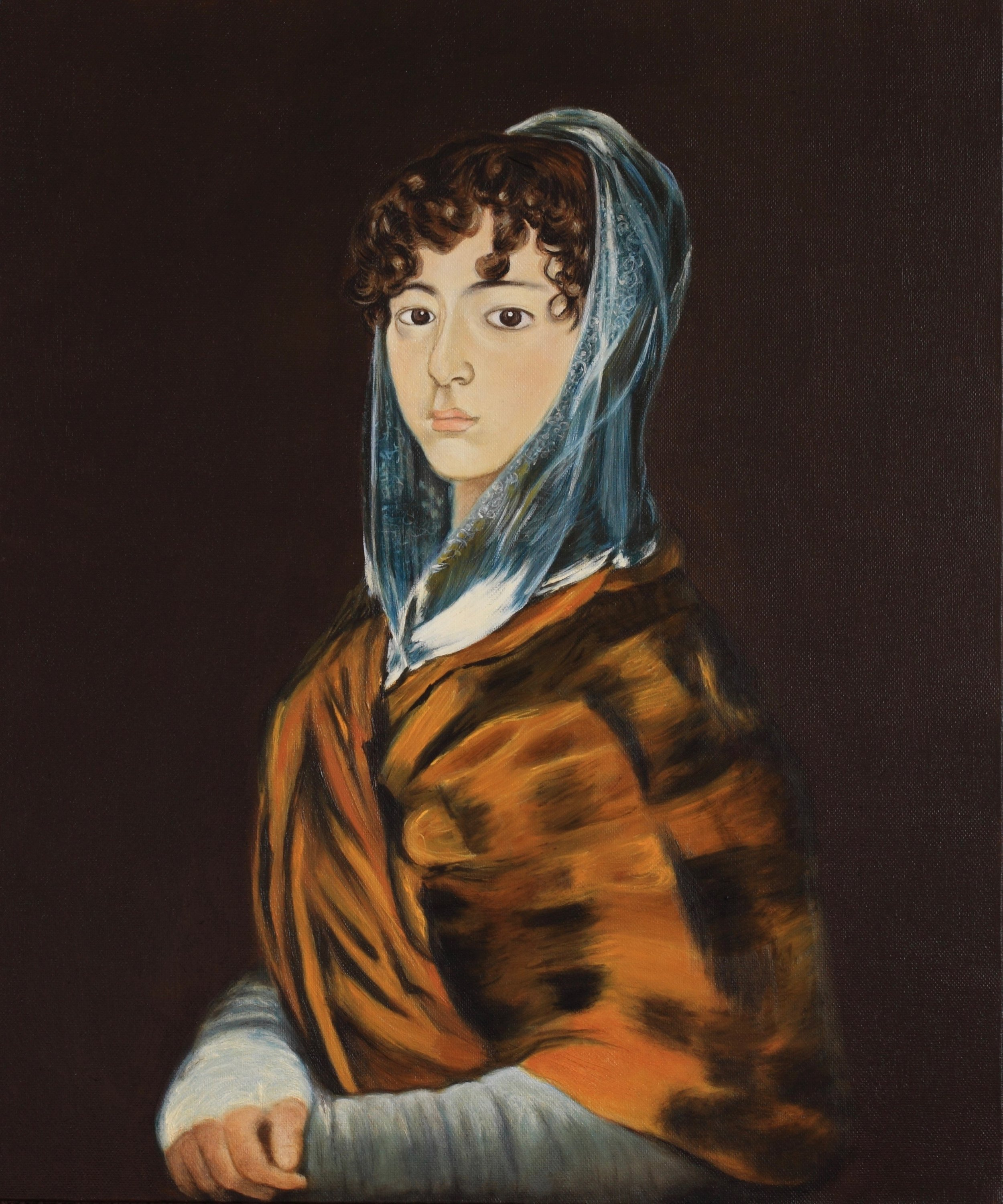 Portrait of Francisca Sabasa Garcia (Goya)