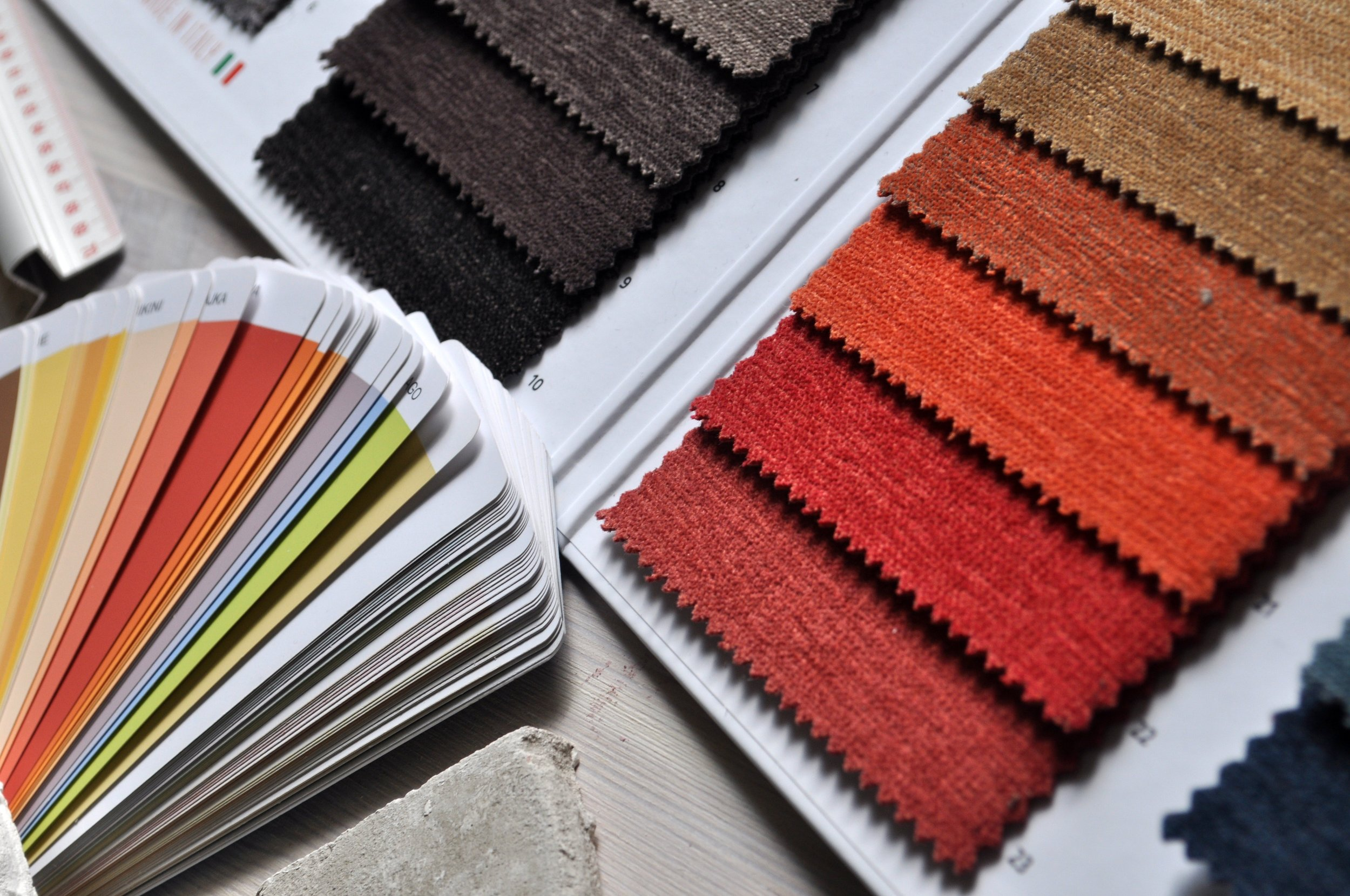 Colour Scheming - Whether you have a concrete idea or looking for inspiration, Decorella can advise colours, materials and surface finishes for your project. If you need to see samples of colour on a wall then we will arrange that too.