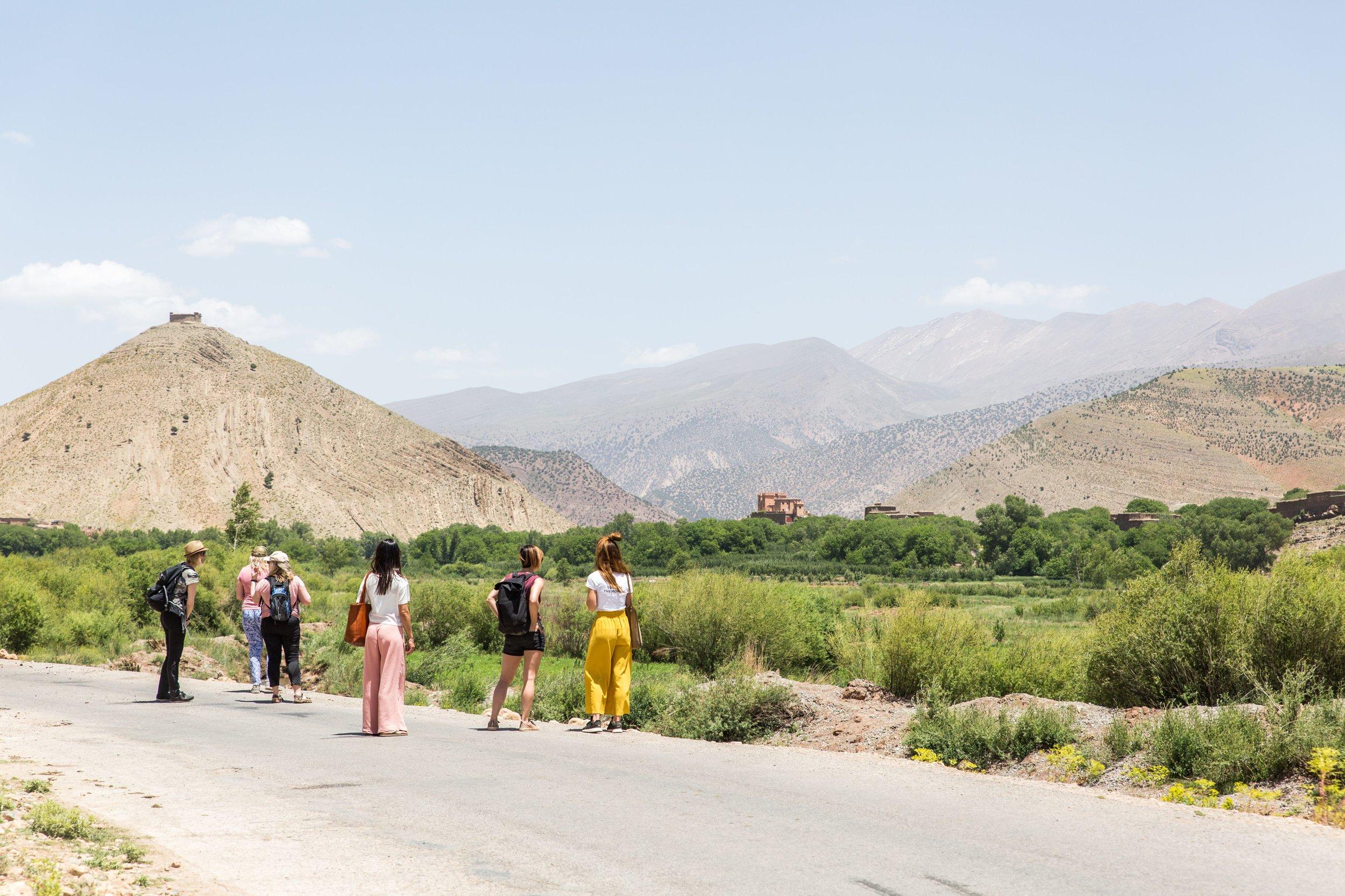 Wandelen in de omgeving - Ait Boughmez