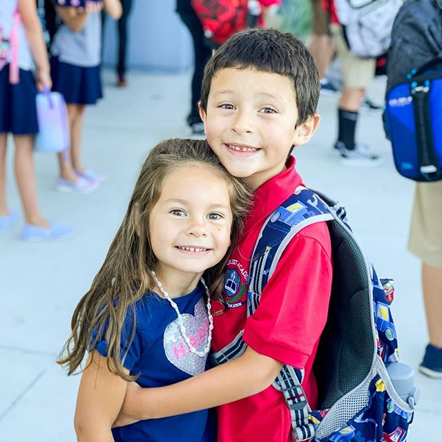 My little buddy started 2nd grade today! His sisters and I will miss him all day long! (But Emma pointed out she might get TV without him haha 🤣) Excited for a new year and ready for the adventures ahead