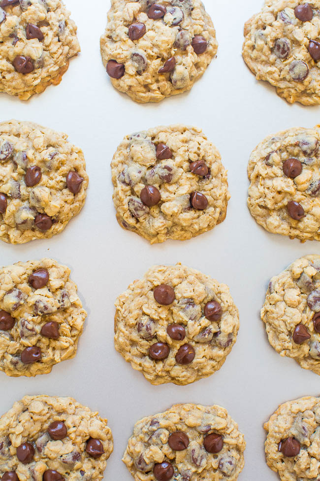 No-Chill Oatmeal Cookies