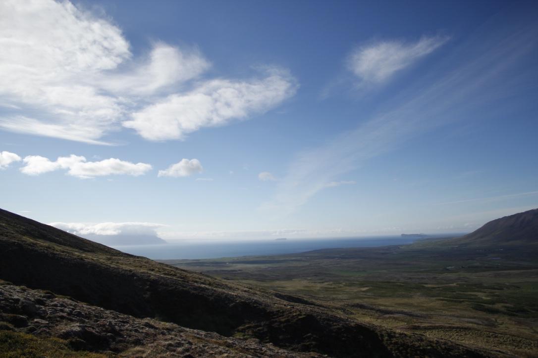 View to the west to Skagafjörður