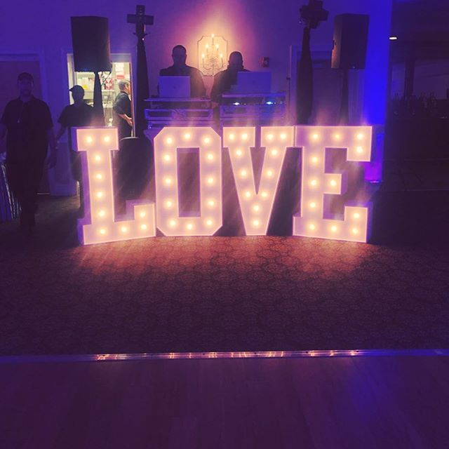 Tried & true. Our go to. Old reliable.  Our most popular marquee letter light setup is.......
