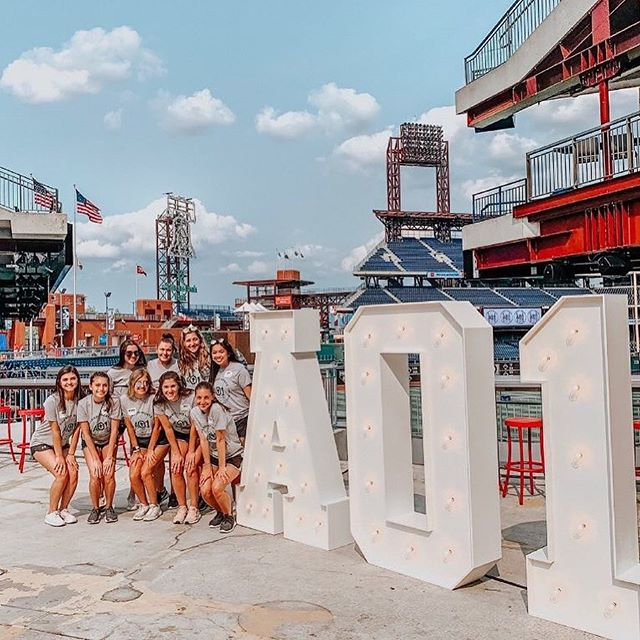 The Carson Wentz AO1 Foundation Charity Softball Game was a hit. Again! . . Here's a collection of photos taken with our HUGE 6ft tall AO1 letters! . . . #eagles #carsonwentz #ao1 #ao1foundation #sponsor #charity #ao1leaveyourmark #philadelphia #philadelphiaeagles #philly #lovephilly #philadelphiaeagles #phillymarquee