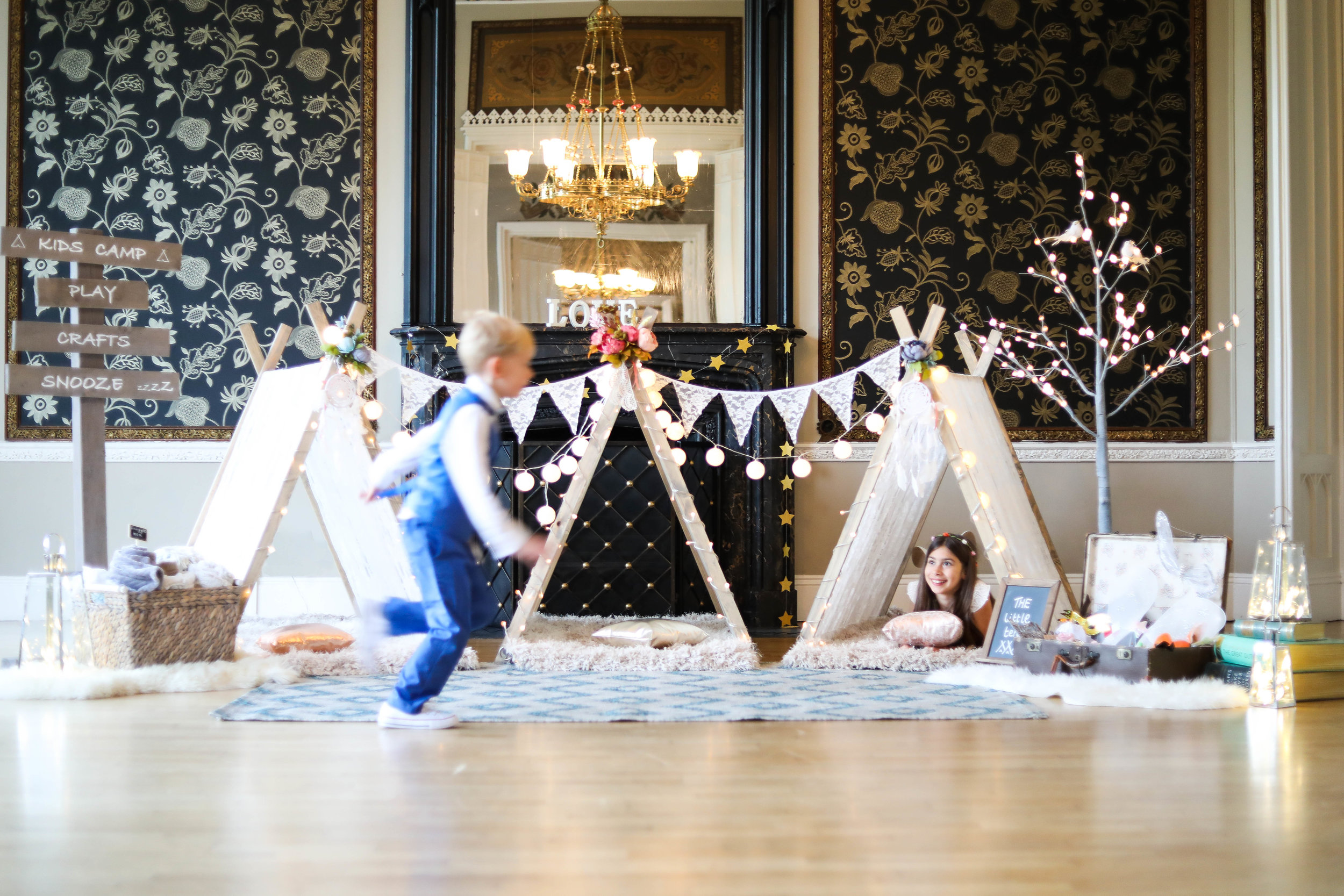 The Little Tents - New company, The Little Tents, provides beautiful handmade indoor tents to create a magical space for children to play and relax at weddings and other special events.  They needed imagery for their marketing activity.Learn more...