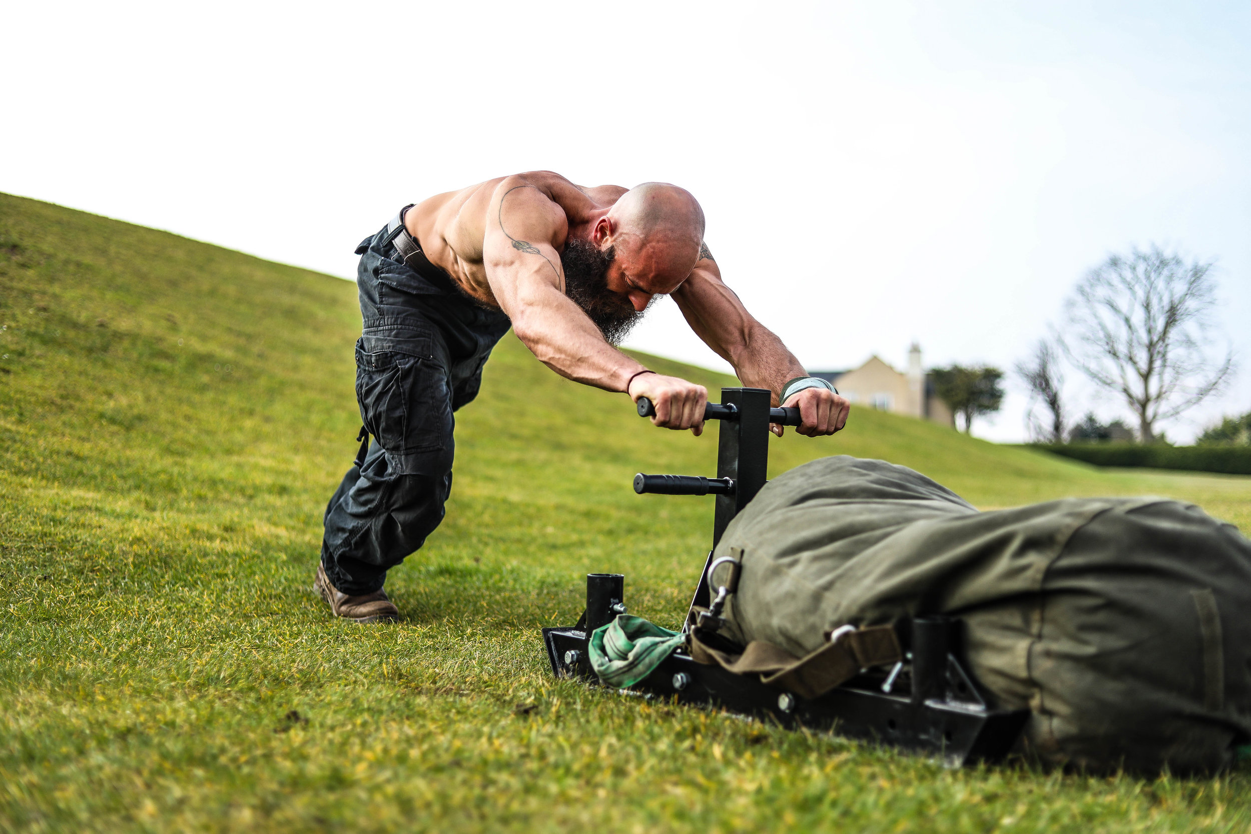 Personal trainer - Richard is a personal trainer and fitness instructor who runs bootcamps in Epsom, Surrey.  Having spent months reaching peak condition, Richard needed imagery for his online profile to help promote his business.Learn more...