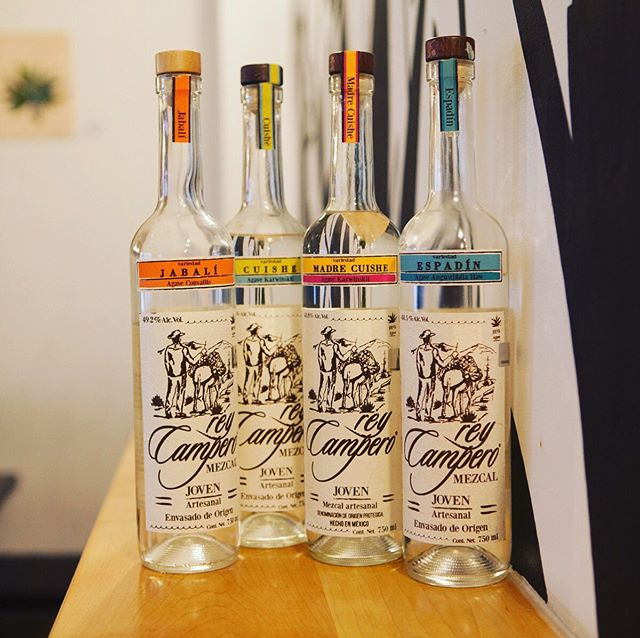 "Monday Mezcal appreciation post: Rey Campero, which means ""King of the Counryside"" hails from the village Sierra Sur in Zoquitlán and packs heat up front and complex, bold flavors throughout. Sip, sip, repeat."